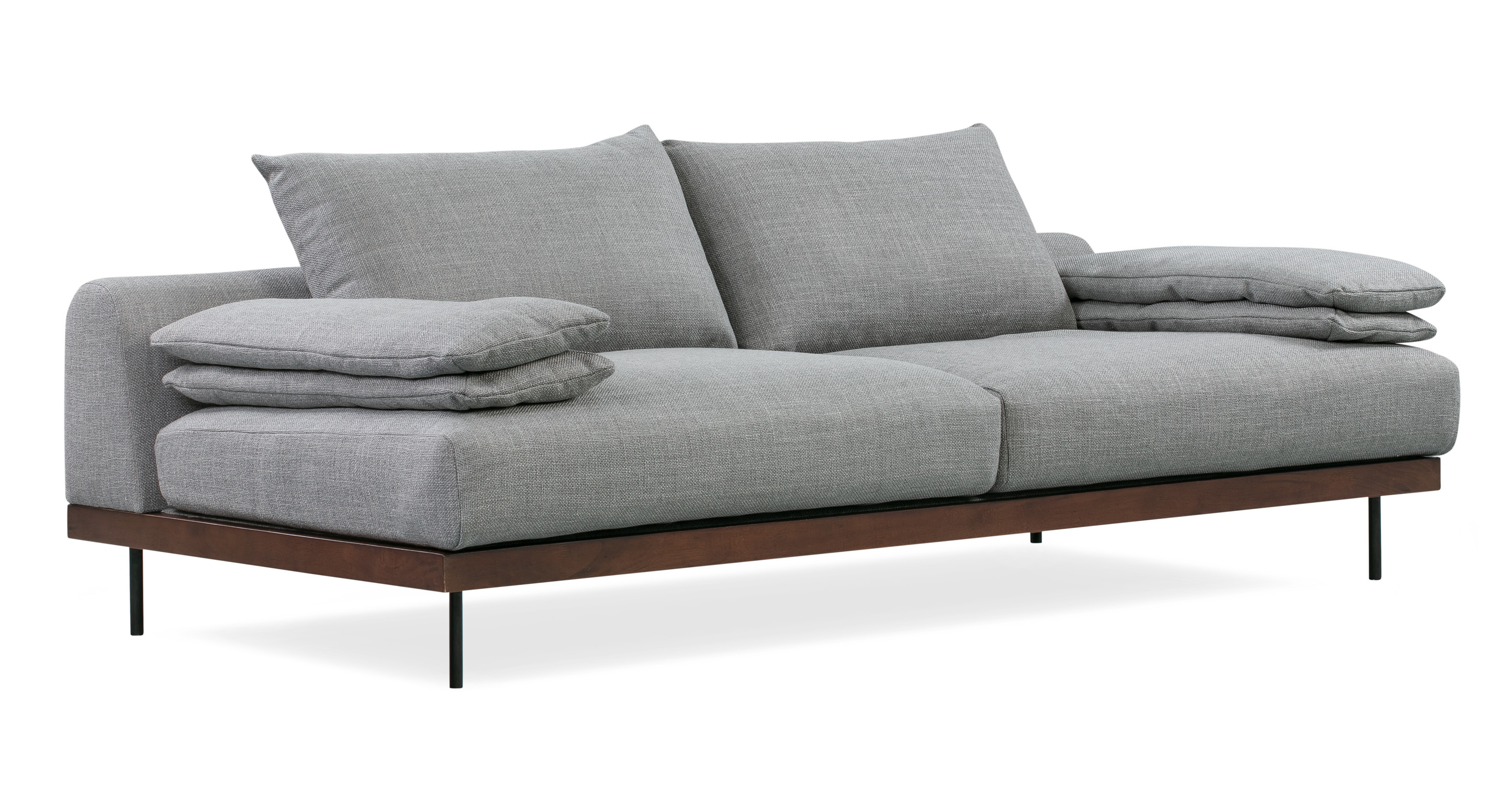 "Malibu 91"" Fabric Sofa Sleeper, Sterling"