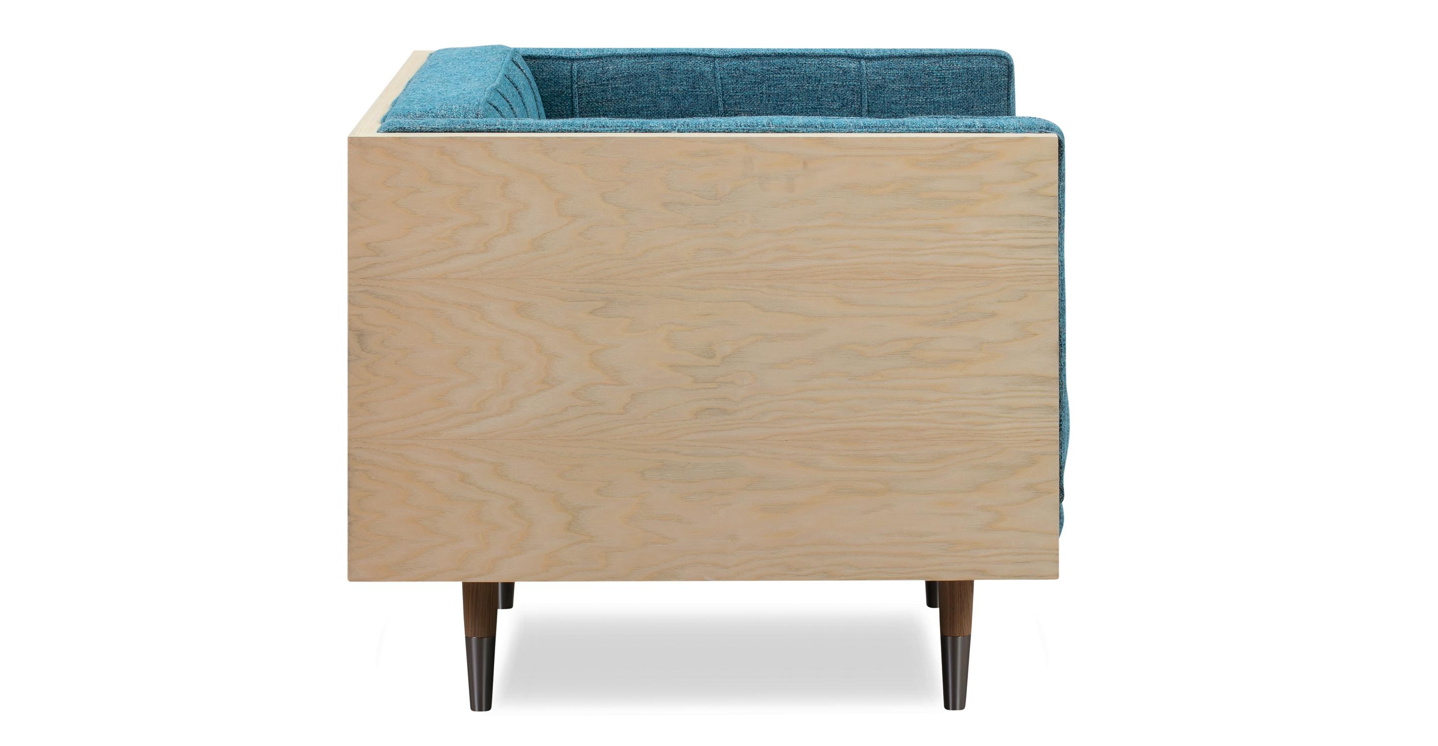 Woodrow Box Chair, Ash/Bliss