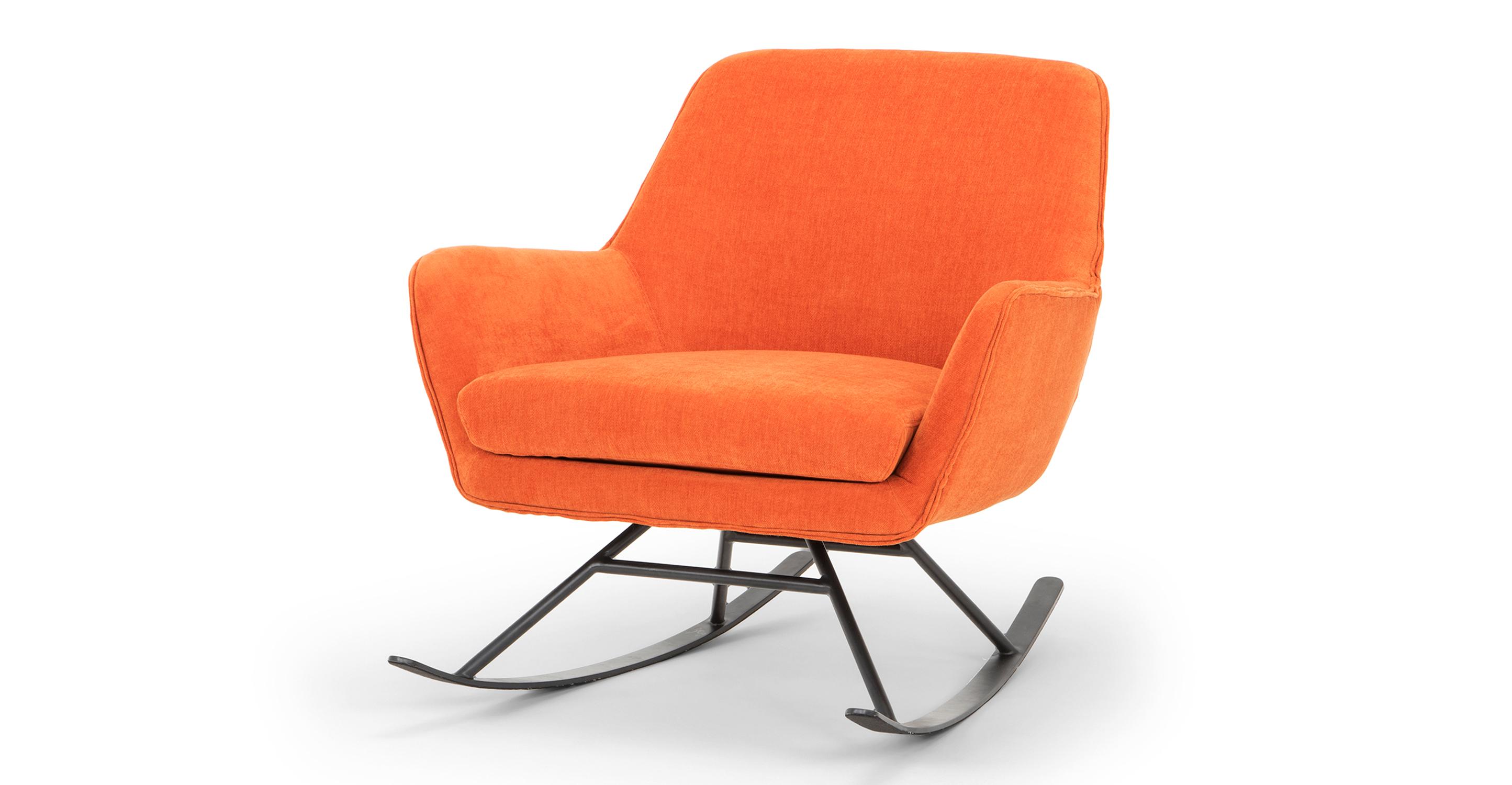 "Alpine 32"" Fabric Rocking Chair, Marmalade"