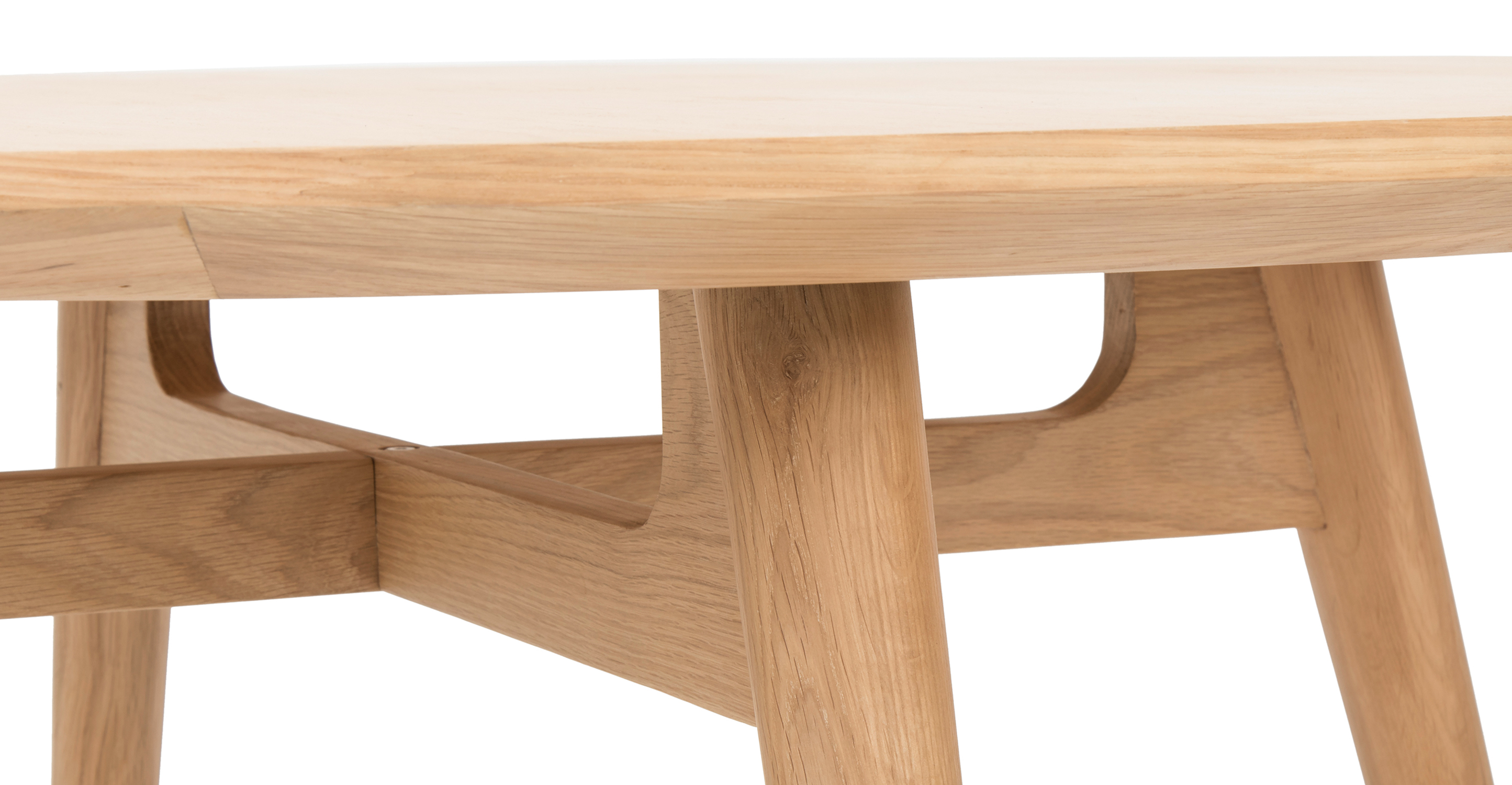 "Asher 47"" Dining Table, Natural Oak"