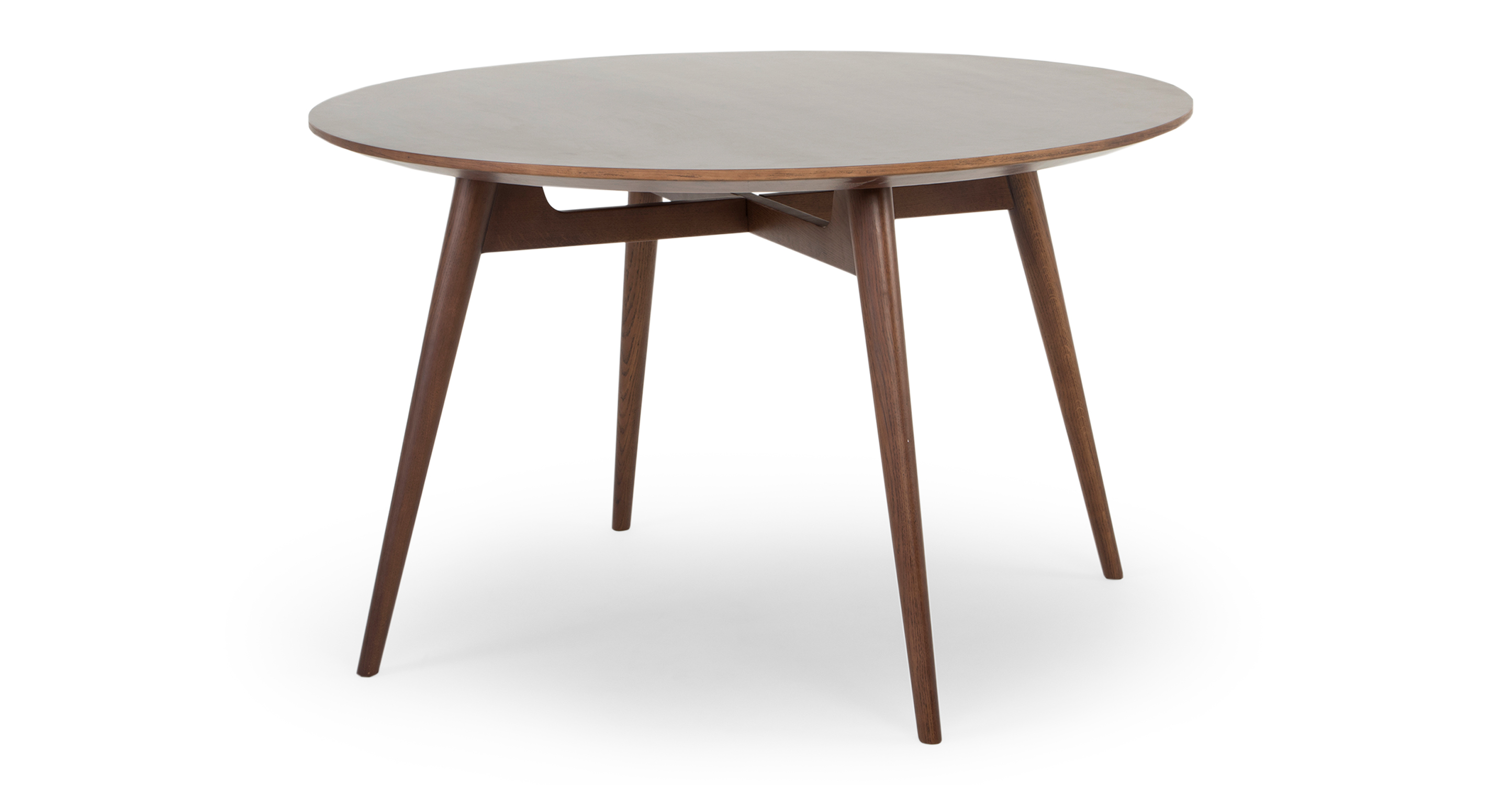"""Asher 47"""" Dining Table, Walnut"""