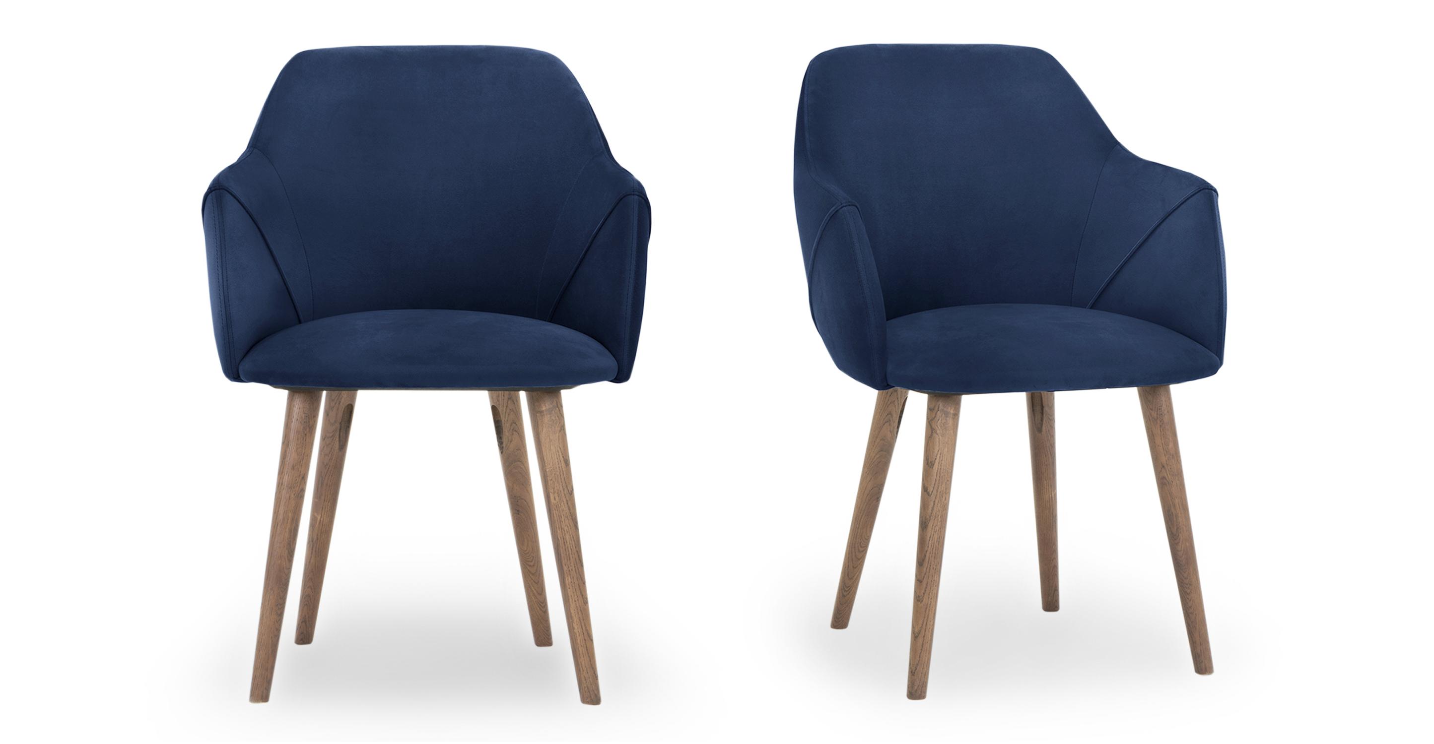 """Berki 23"""" 2-pc. Dining Chair, Danube Velvet"""