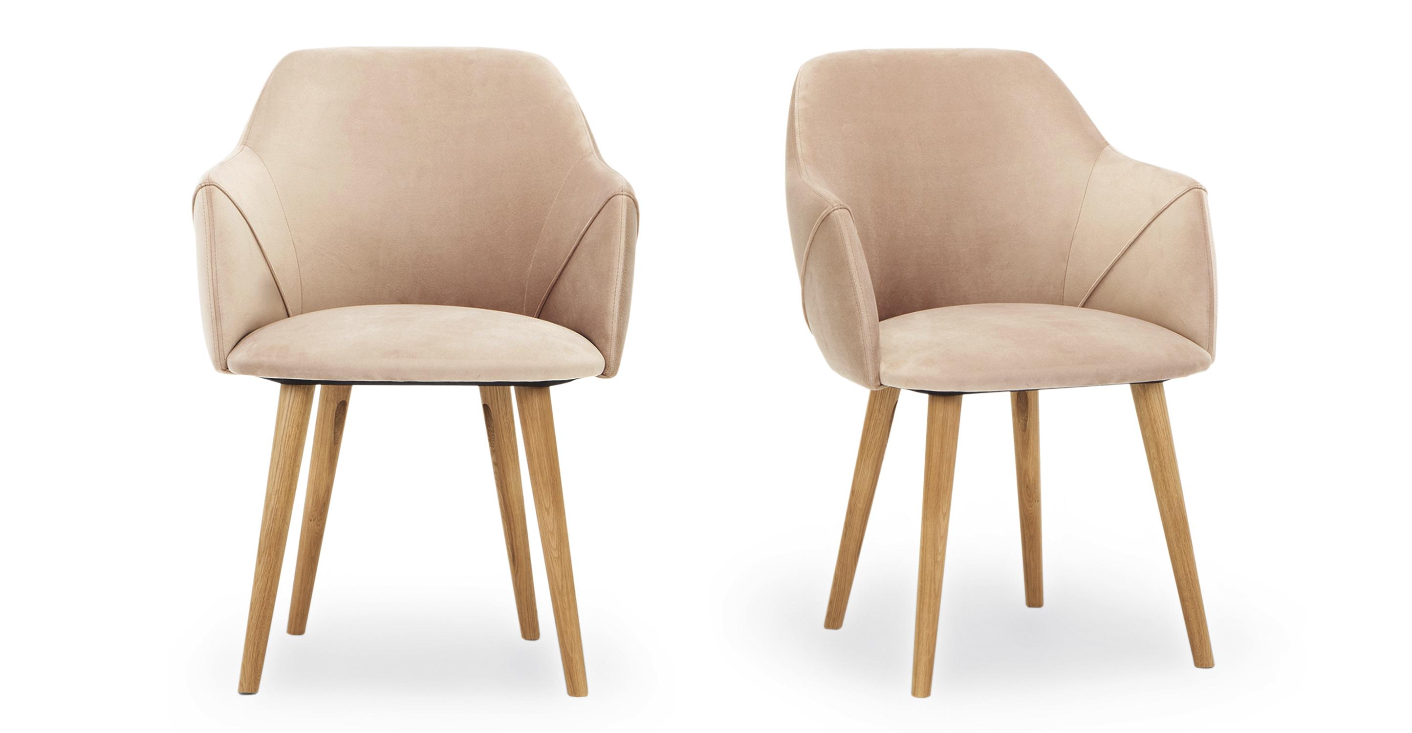 """Berki 23"""" 2-pc. Dining Chair, Enchant Velvet"""