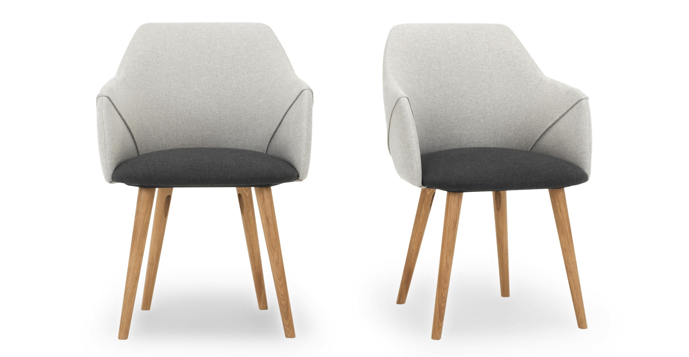 """Berki 23"""" 2-pc. Dining Chair, Jubilee & Nickel"""
