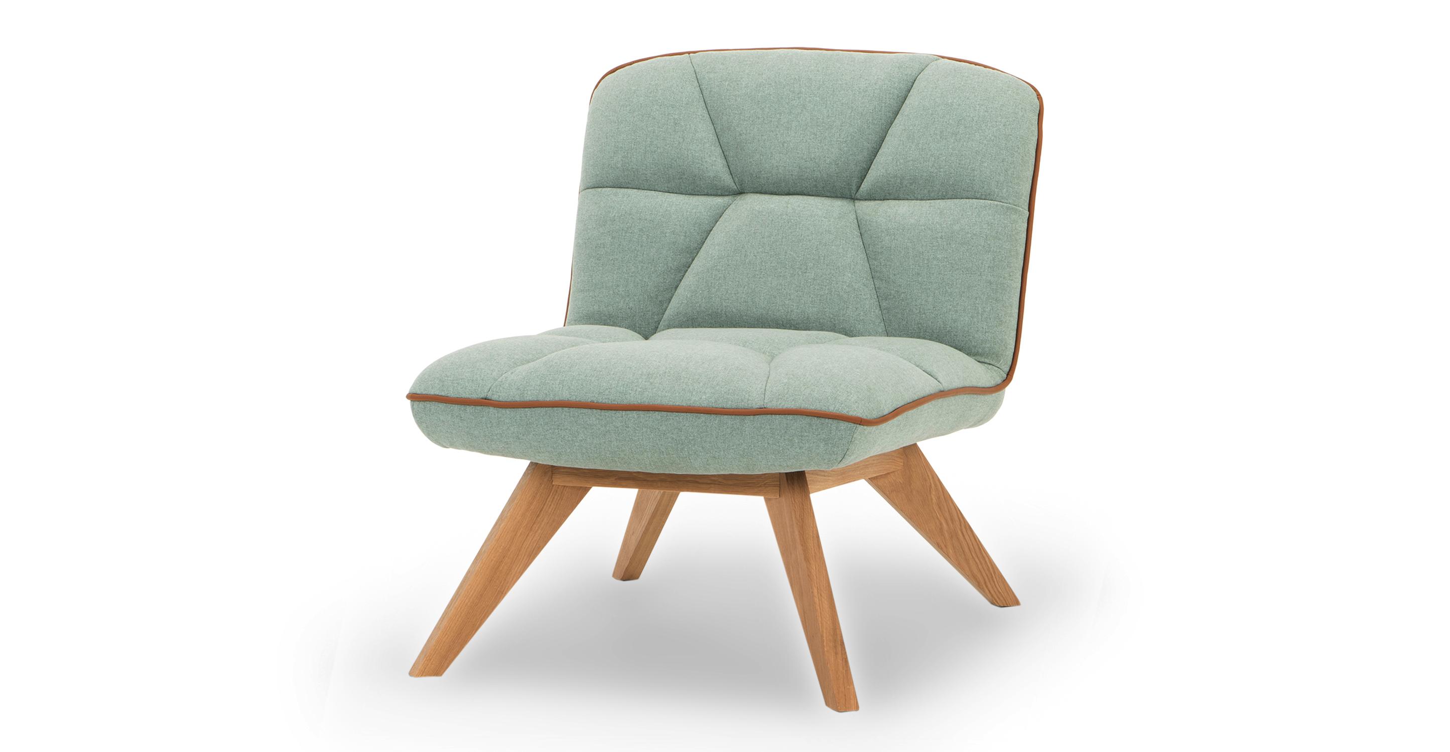 "Buckie 26"" Fabric Chair, Scuba"