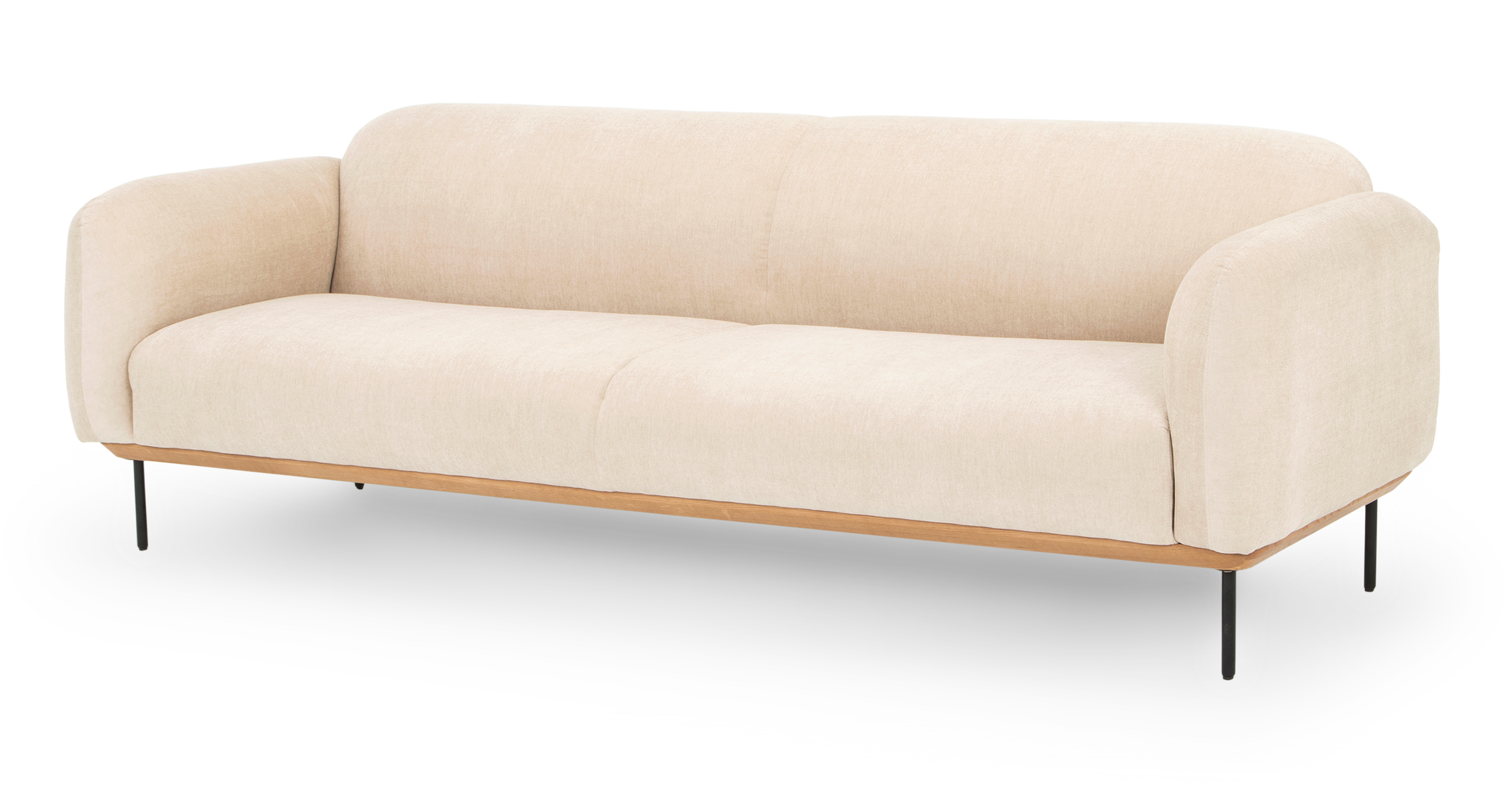 "Cloud 90"" Fabric Sofa, Macadamia"