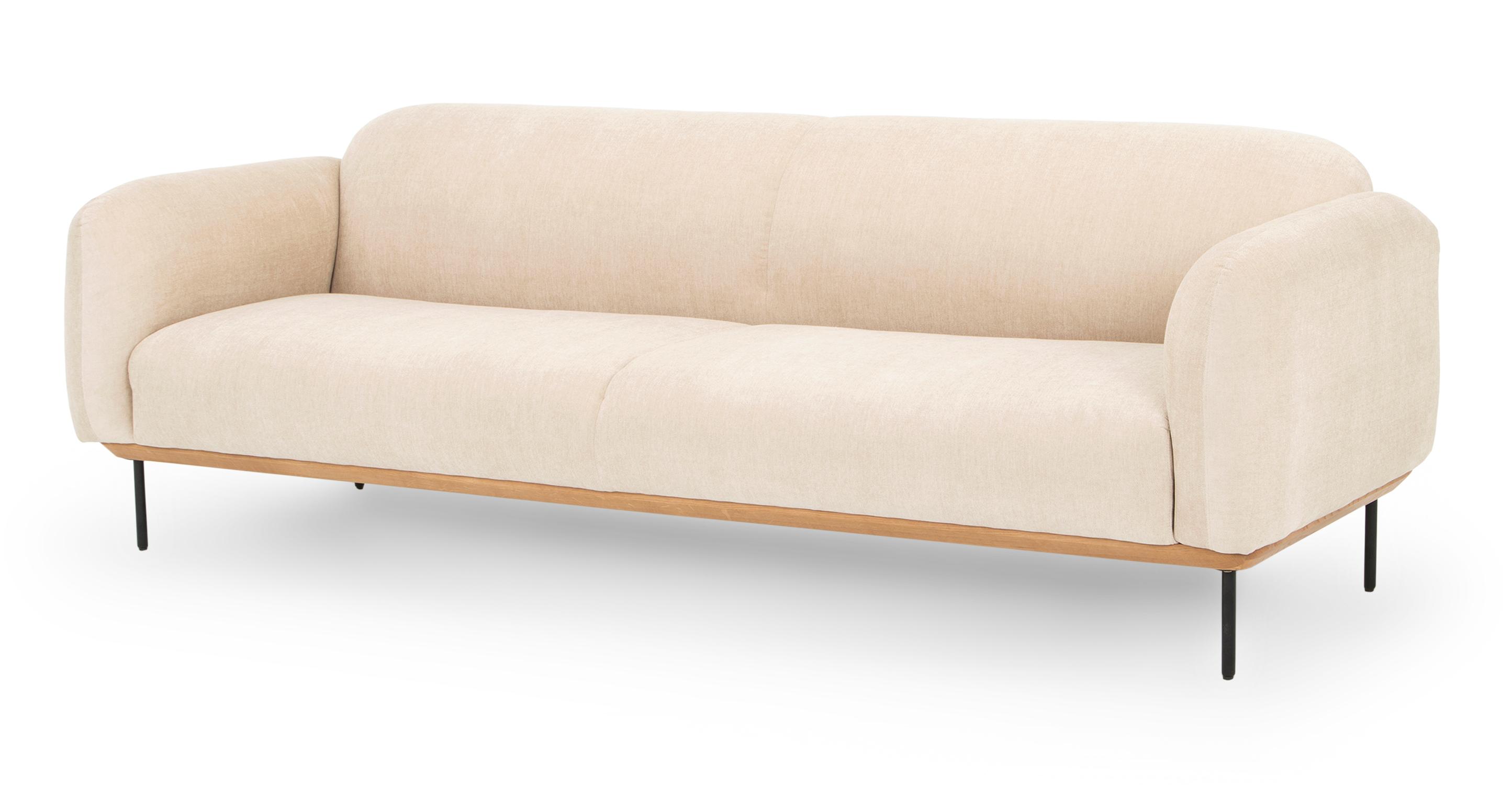 "Cloud 90"" Fabric Sofa, Macadamia"