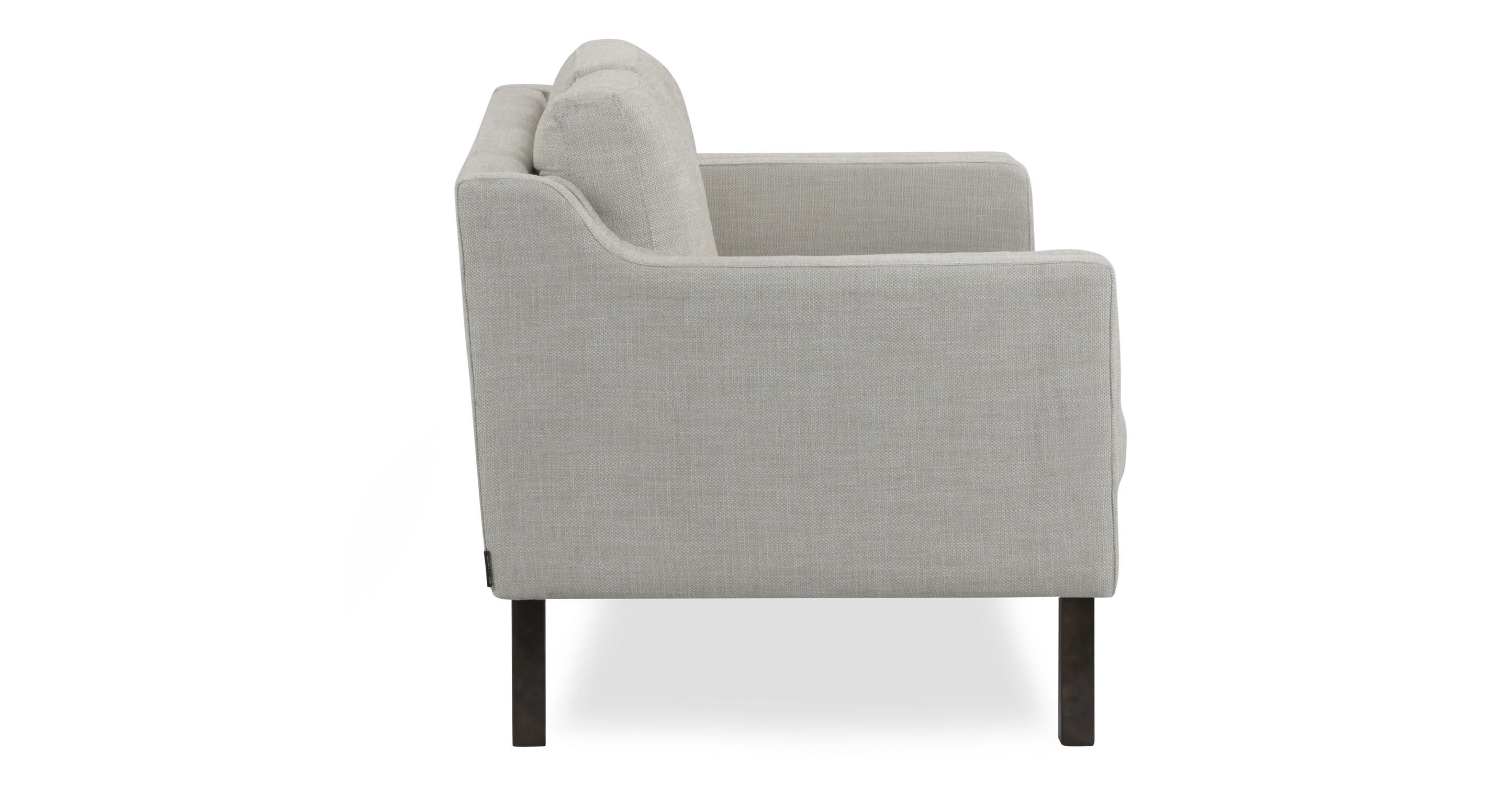 "Monroe 63"" Fabric Sofa, Neutra Twill"