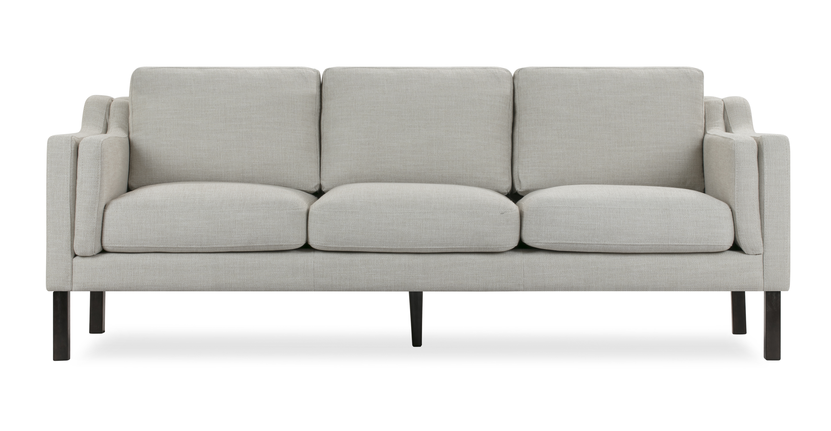 "Monroe 87"" Fabric Sofa, Neutra"