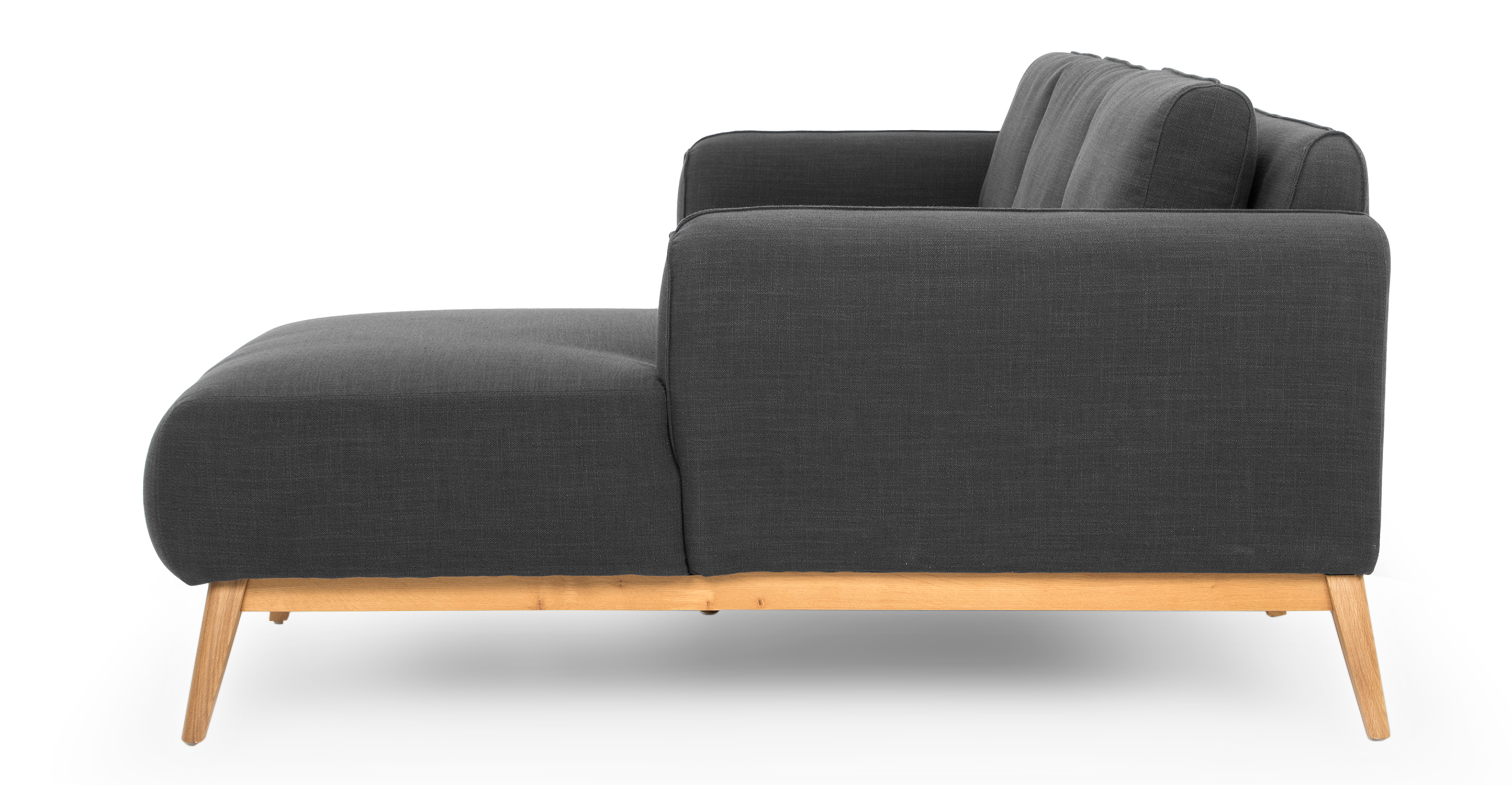 """Metro 100"""" Sofa Sectional Right, Colossus"""