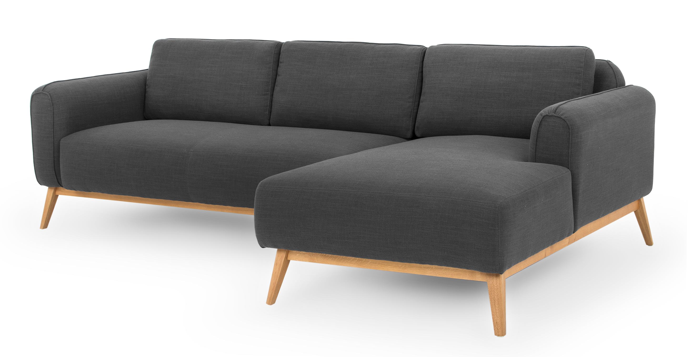"Metro 100"" Fabric Sofa Sectional Right, Colossus"