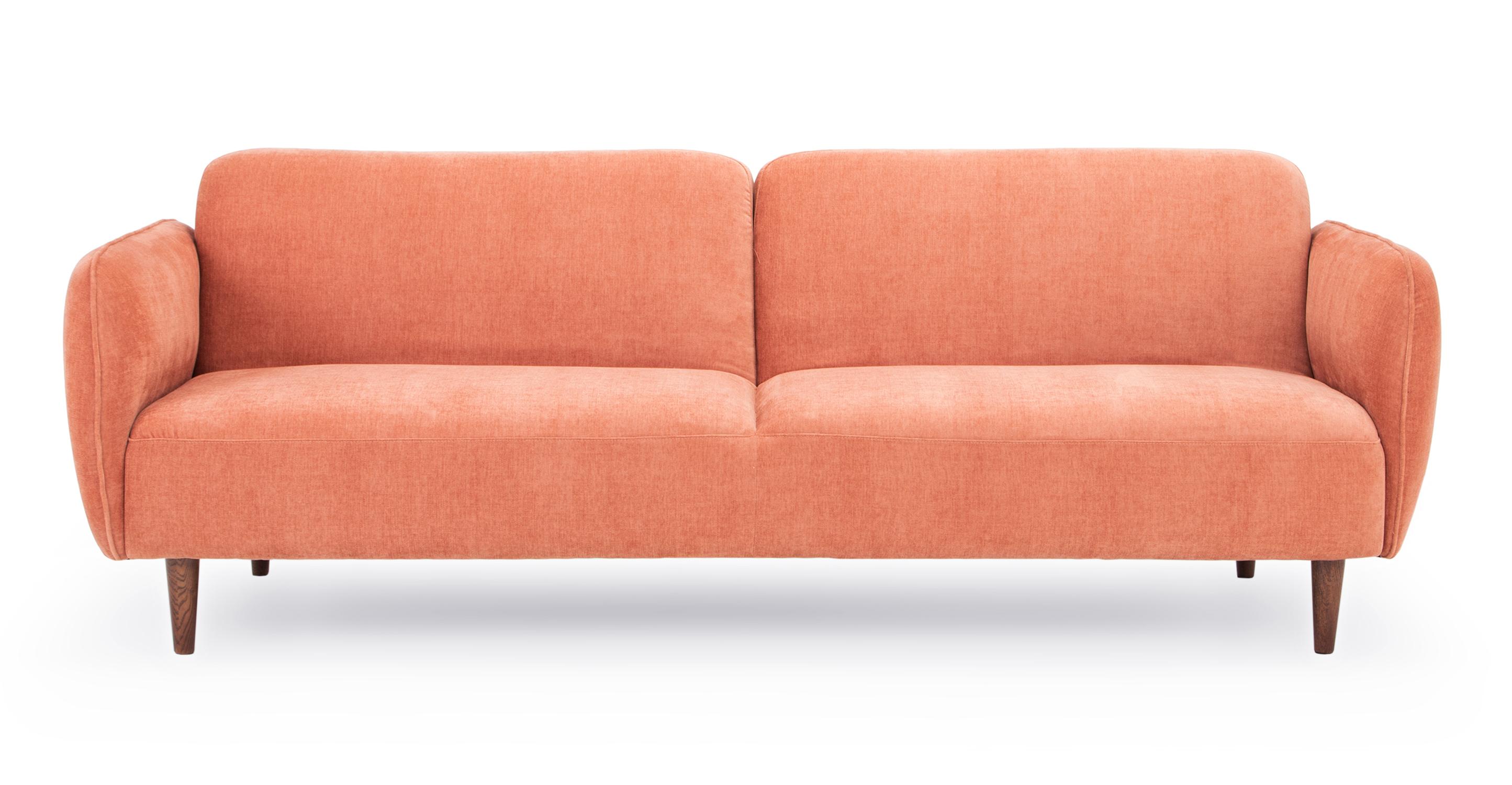 "Omer 88"" Fabric Sofa Sleeper, Enamored"
