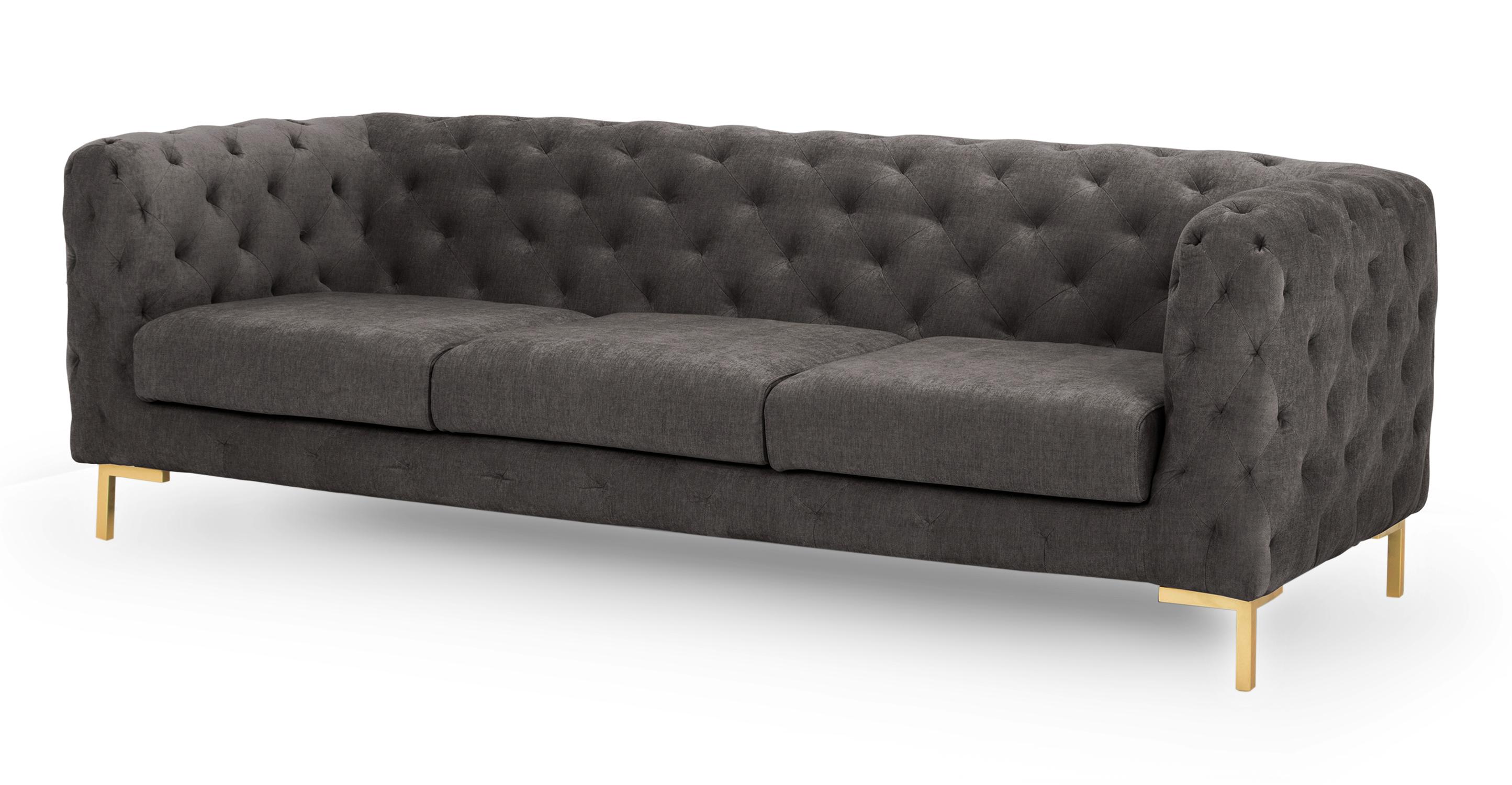 """Umbria 93"""" Fabric Sofa, Twilight"""