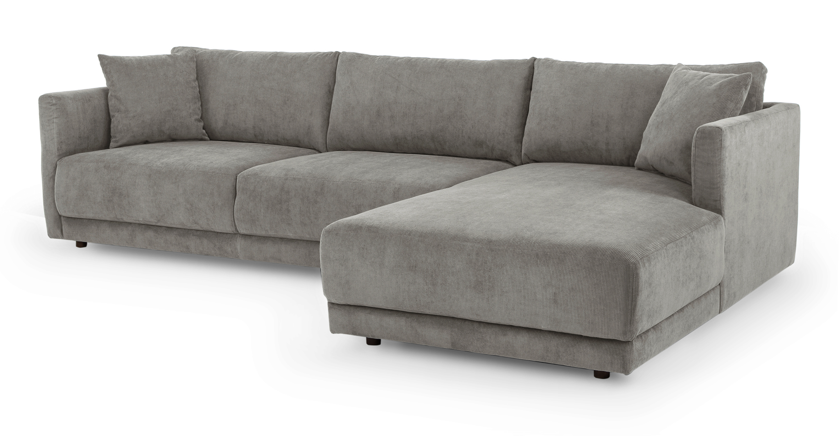 "Domus 115"" Sofa Sectional Right, Monorail Cord"