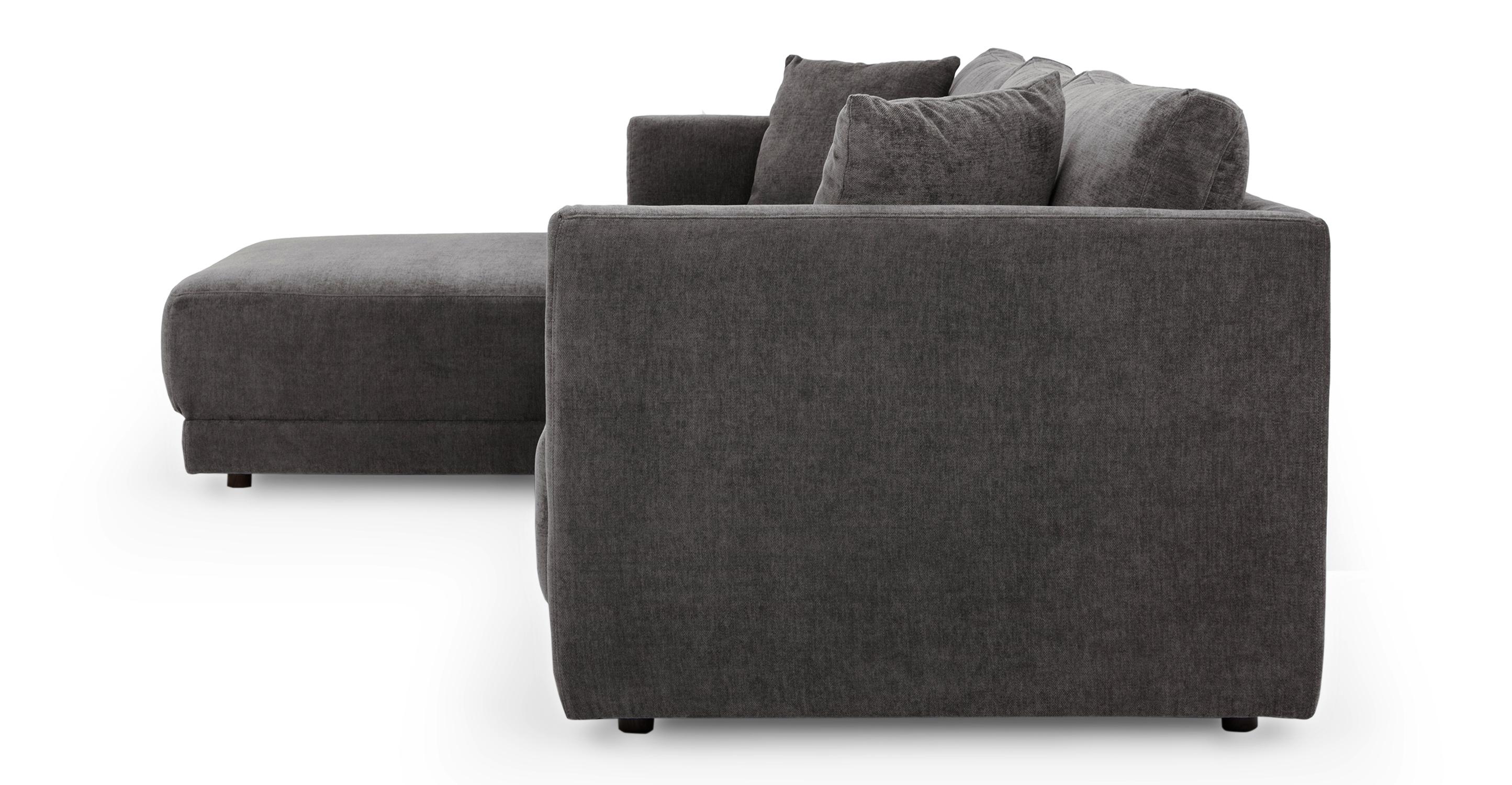 "Domus 115"" Sofa Sectional Left, Twilight"