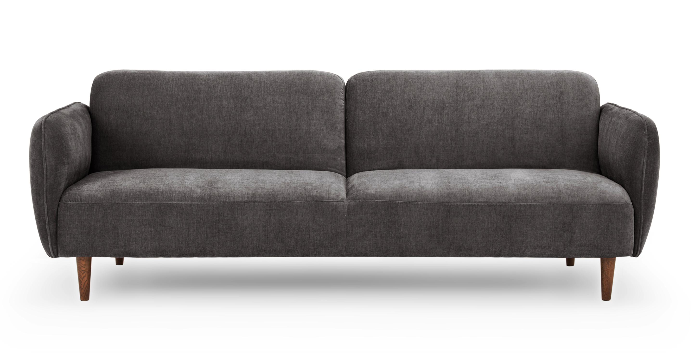"""Omer 88"""" Fabric Sofa Sleeper, Twilight"""