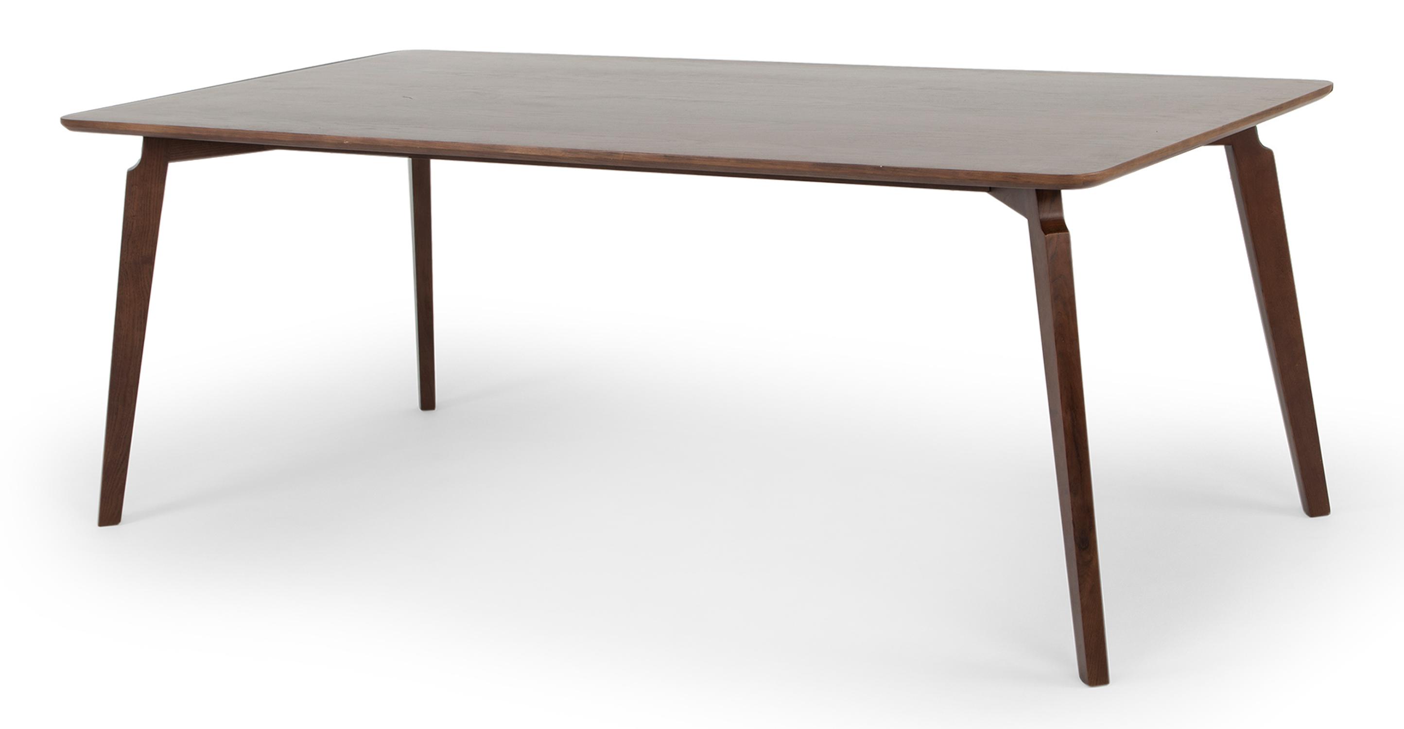 "Kilm 78"" Dining Table, Walnut"