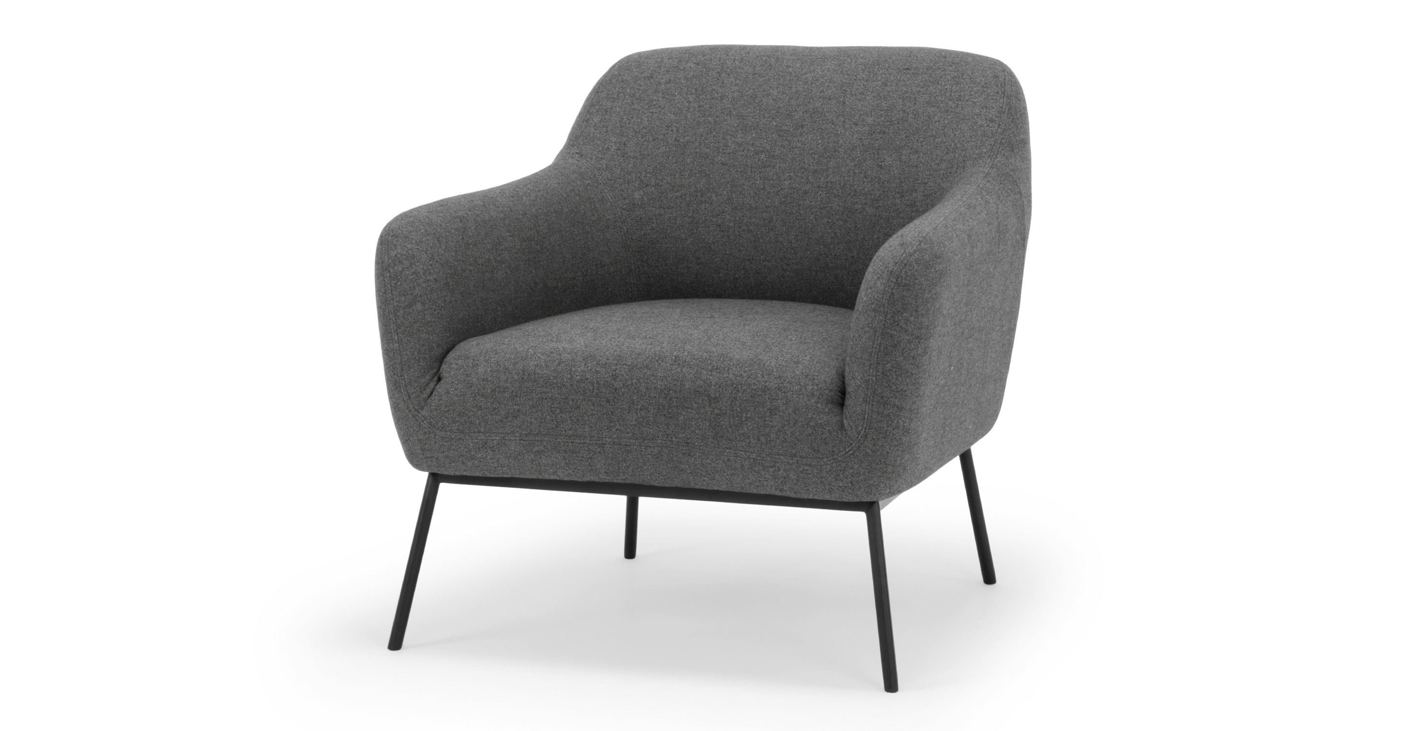"Jive 32"" Fabric Chair, Timberwolf"