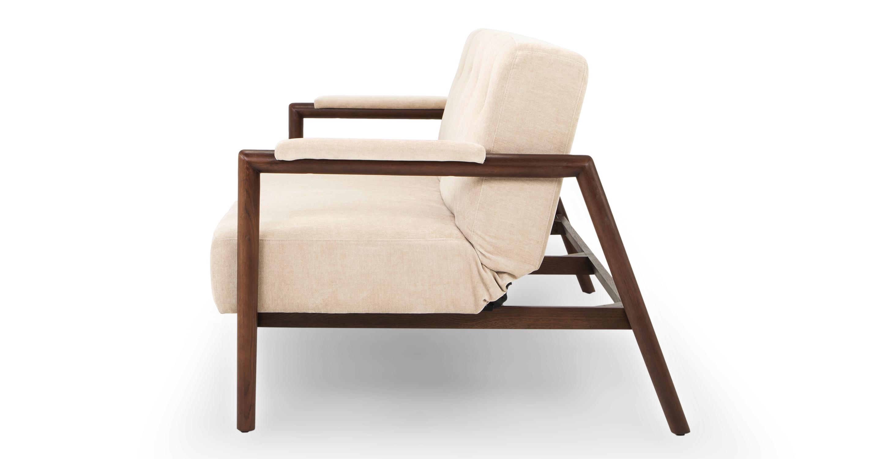 """Orson 85"""" Sofa Sleeper, Macadamia"""