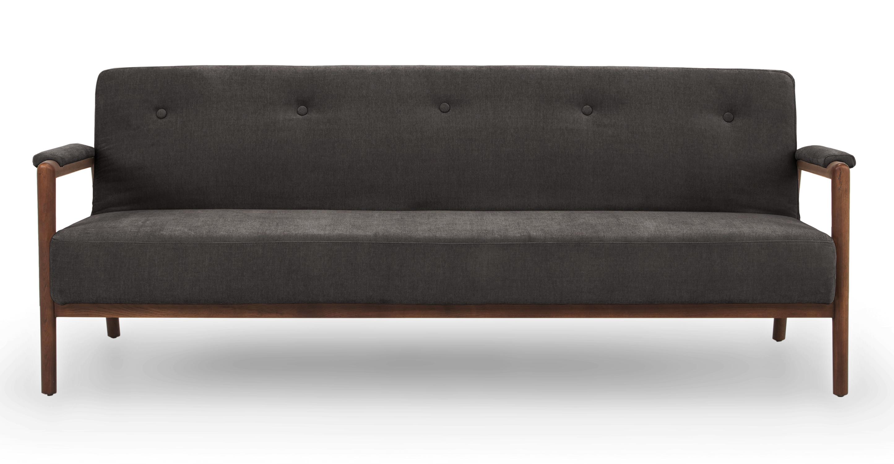 "Orson 85"" Fabric Sofa Sleeper, Twilight"