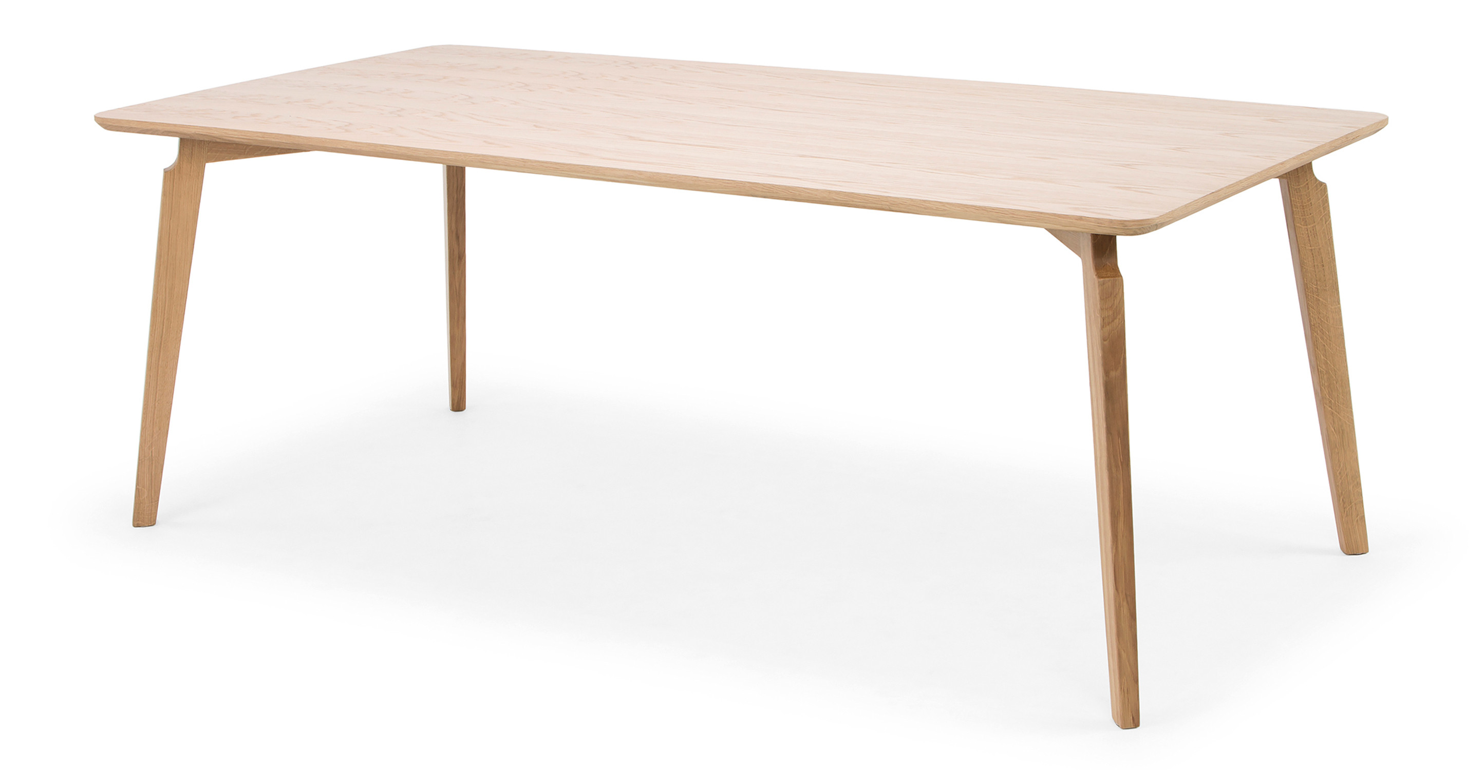 "Kilm 78"" Dining Table, Natural Oak"
