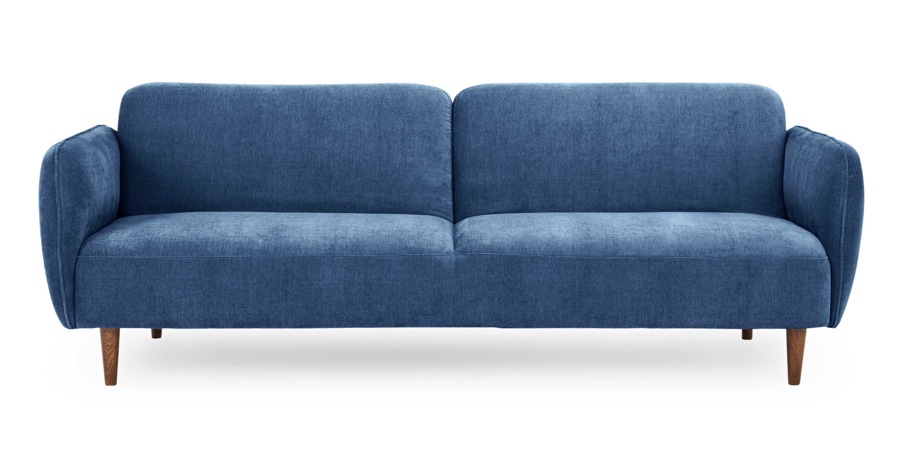 """Omer 88"""" Fabric Sofa Sleeper, Shadow Blue"""