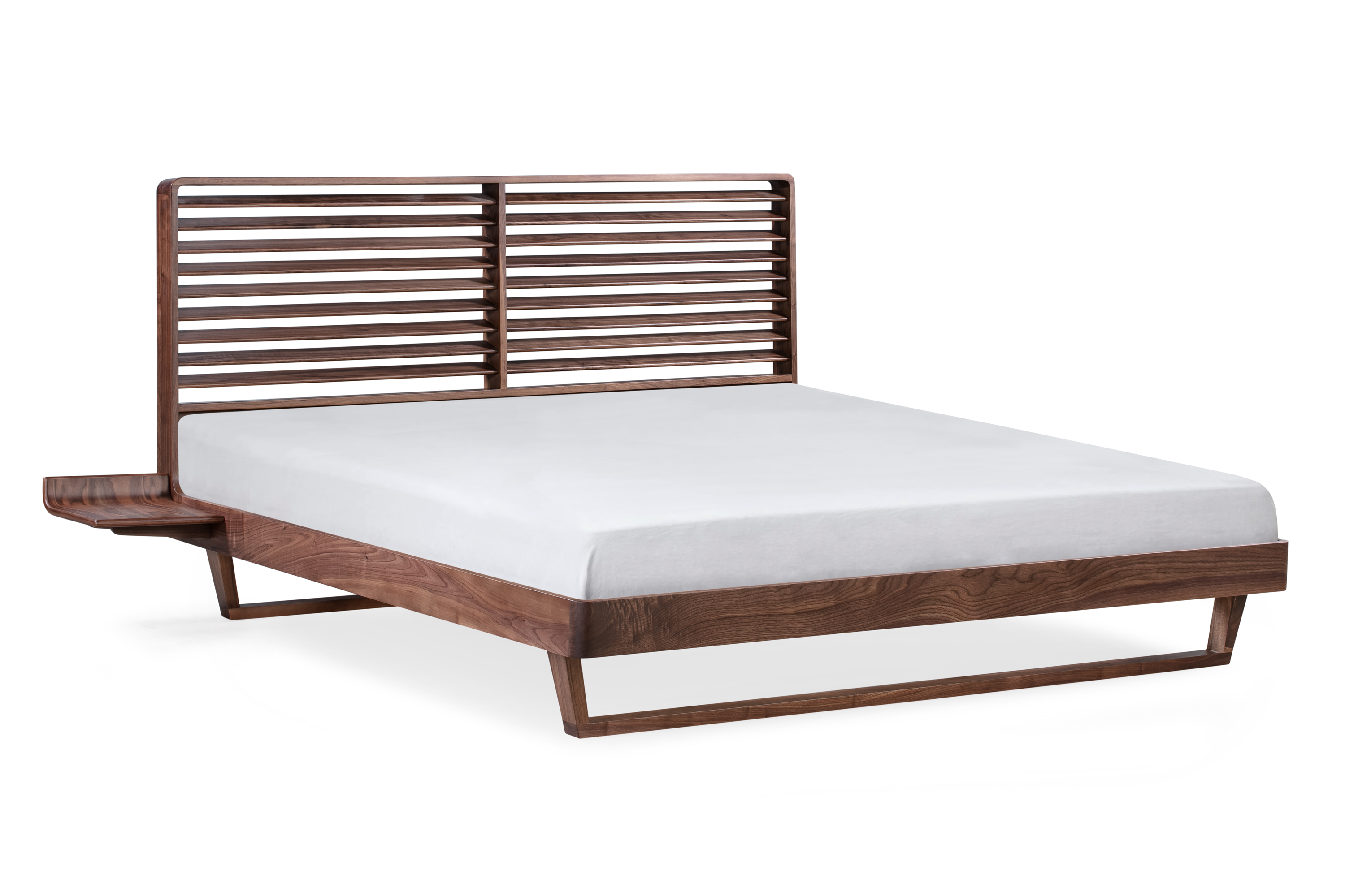 Morpheus Bed King, Walnut