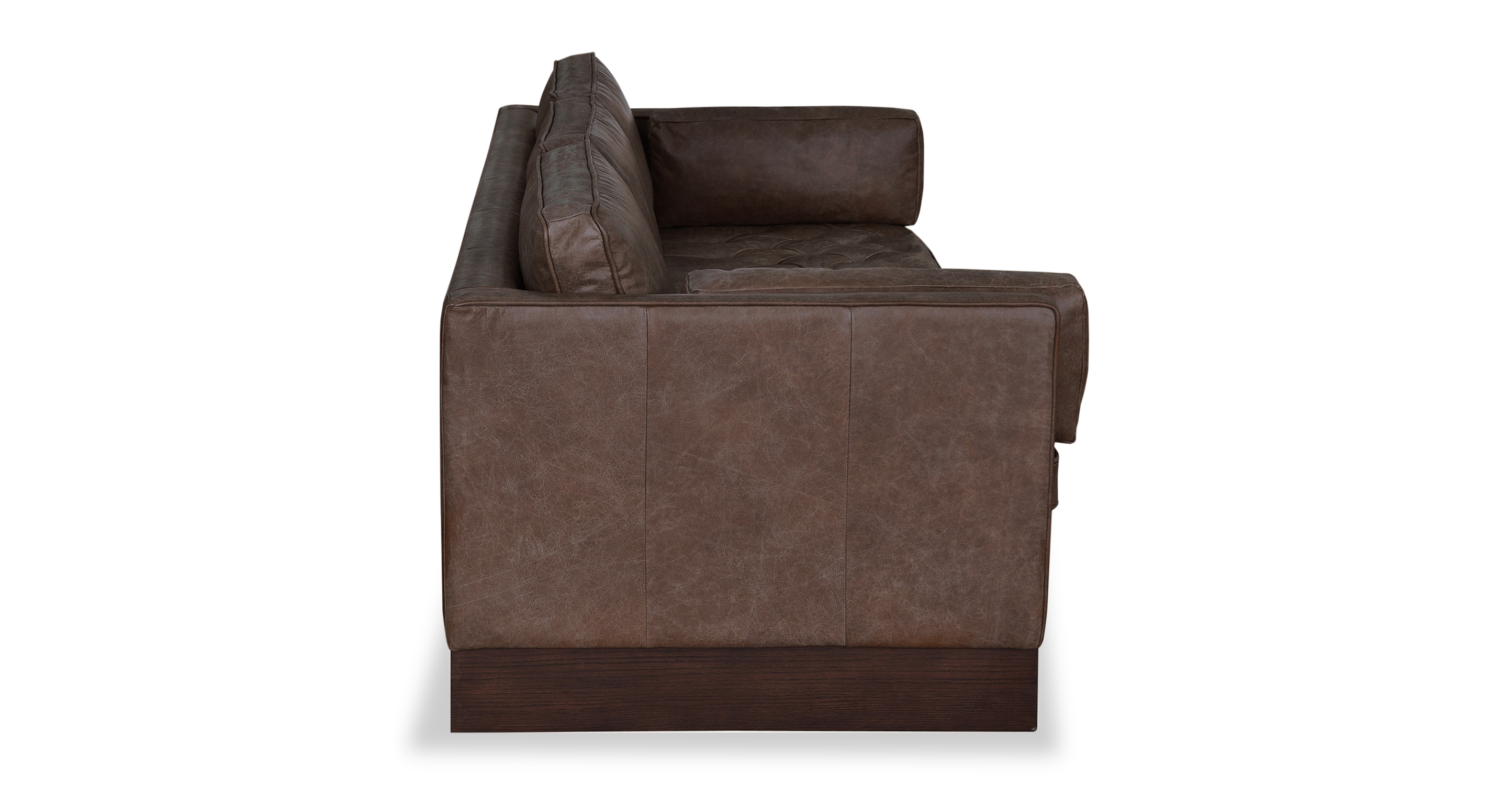"Wexler 88"" Leather Sofa, Tan Top Grain Semi Aniline"