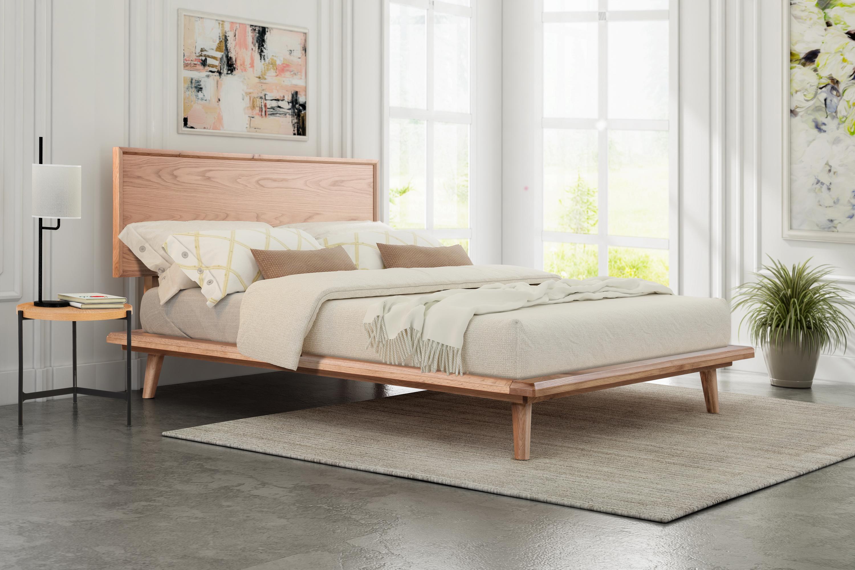 Hypnus Bed Queen Natural Oak Kardiel