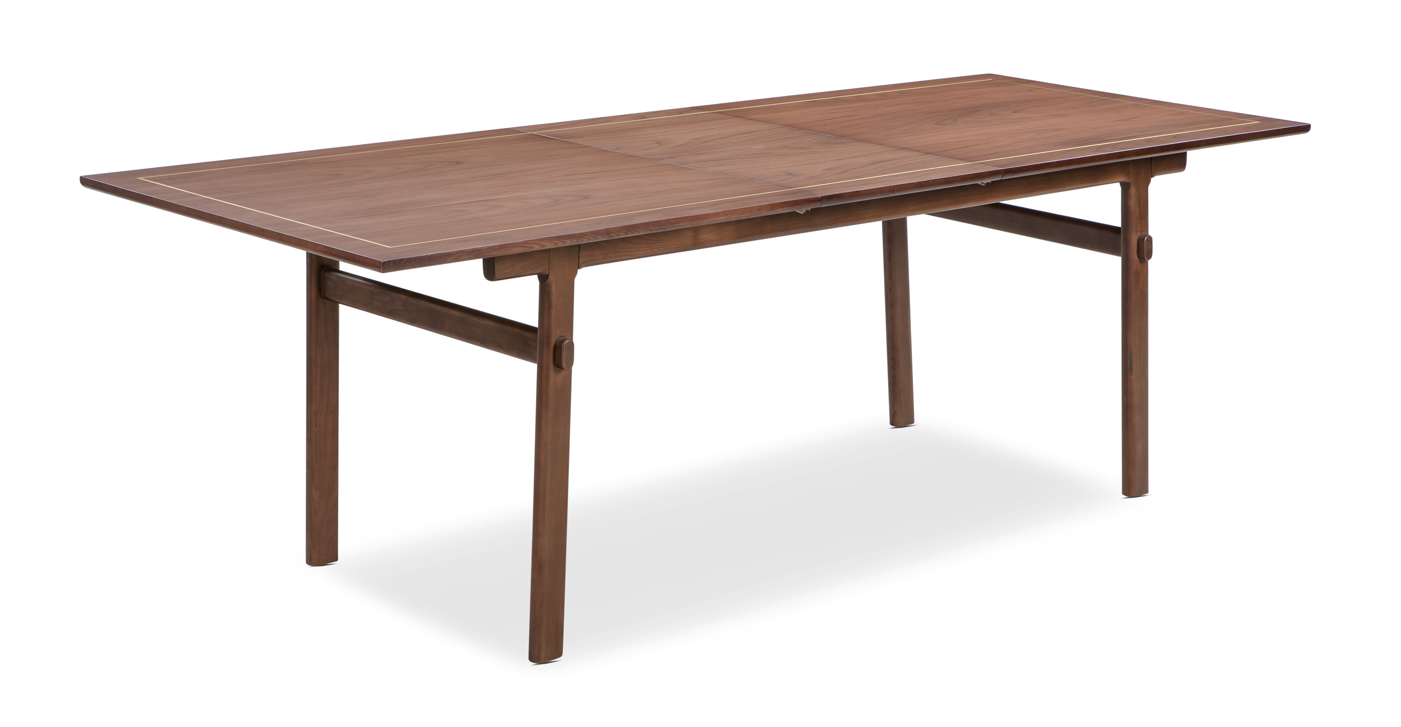 "Thrive 71-89"" Extendable Dining Table, Walnut"