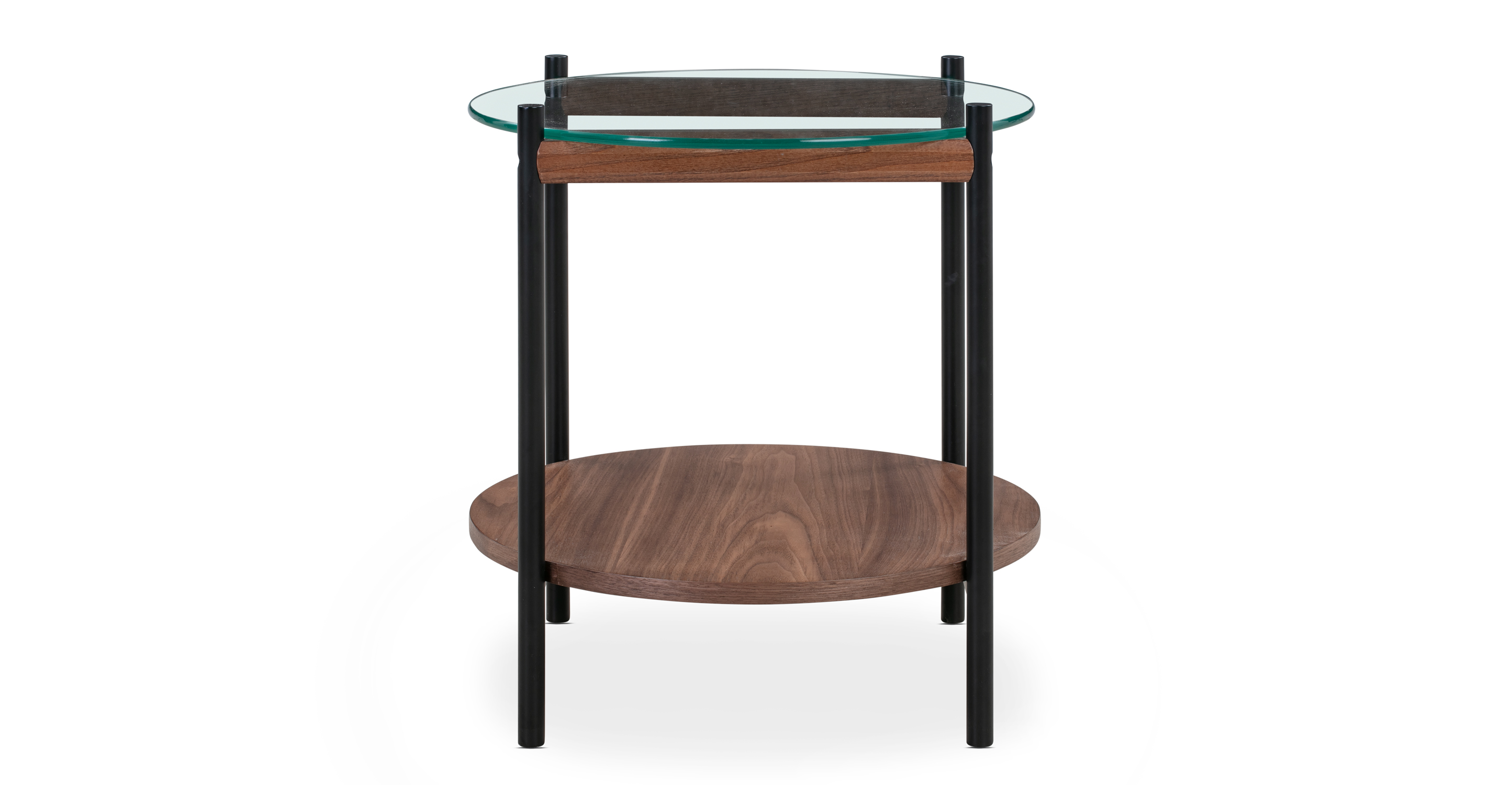 "Urbane 16"" Side Table, Walnut"