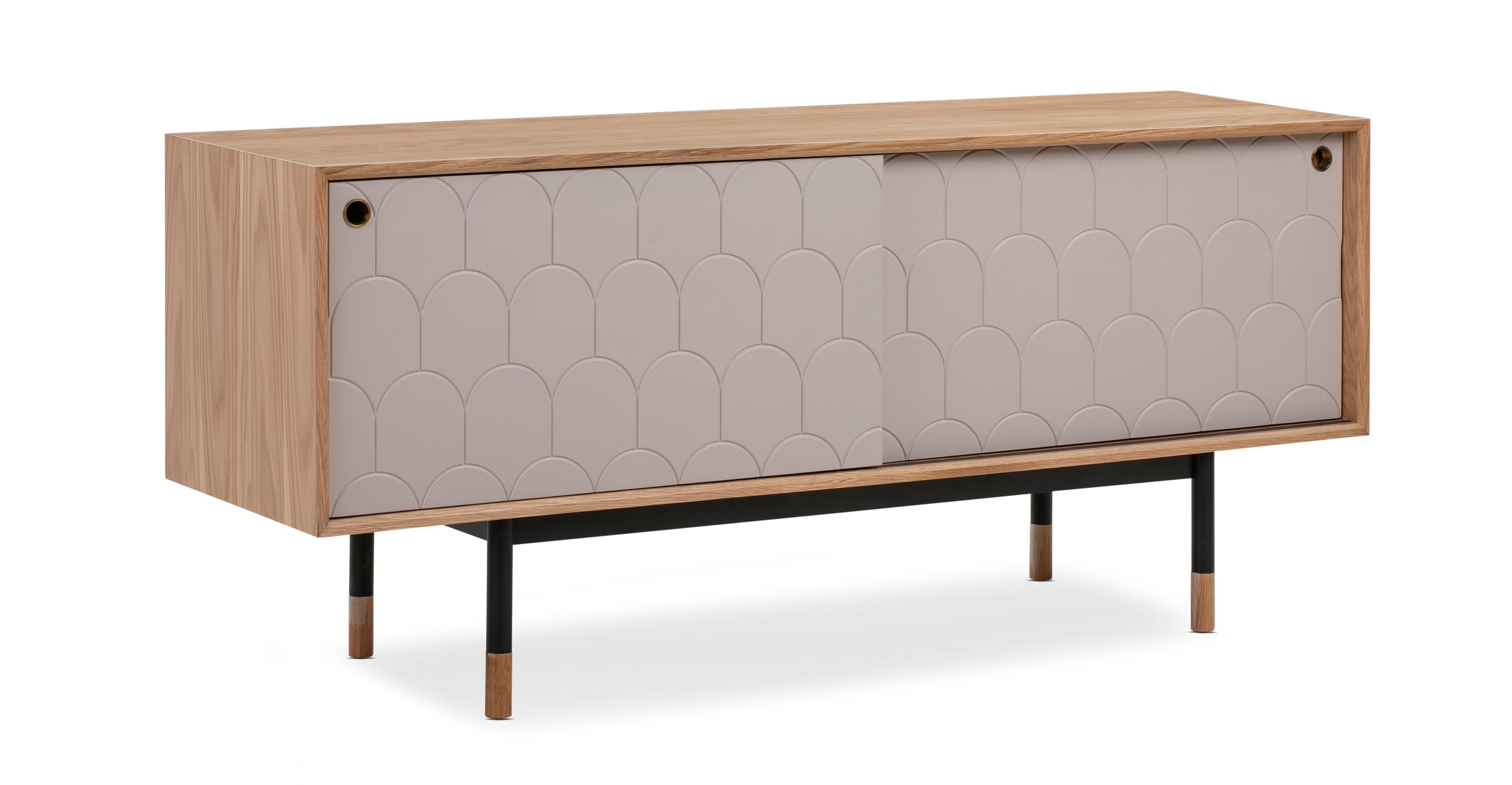 "Urbane 63"" Cabinet, Natural Oak"