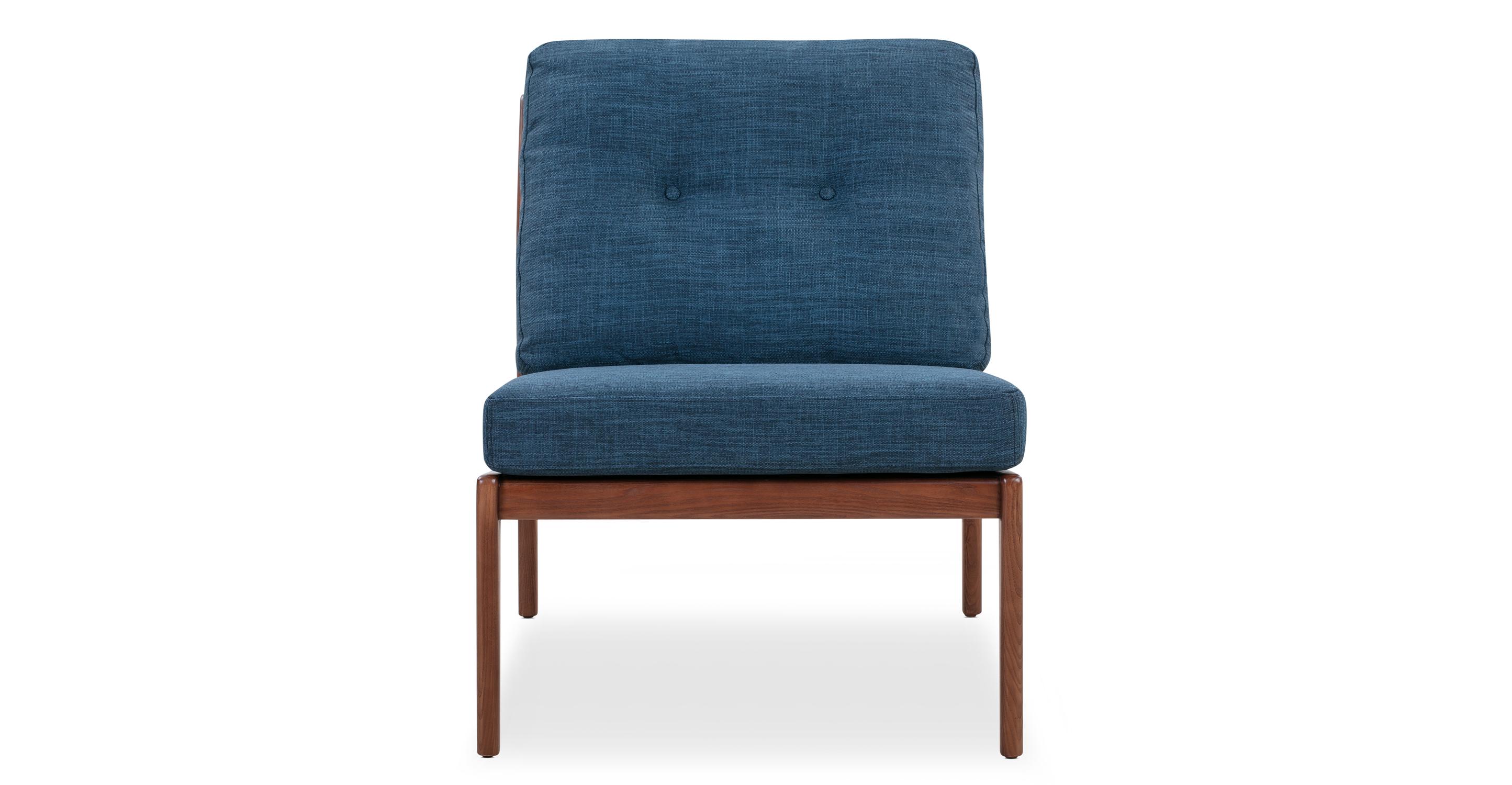 "Urbane 23"" Fabric Chair, Walnut/Astro"