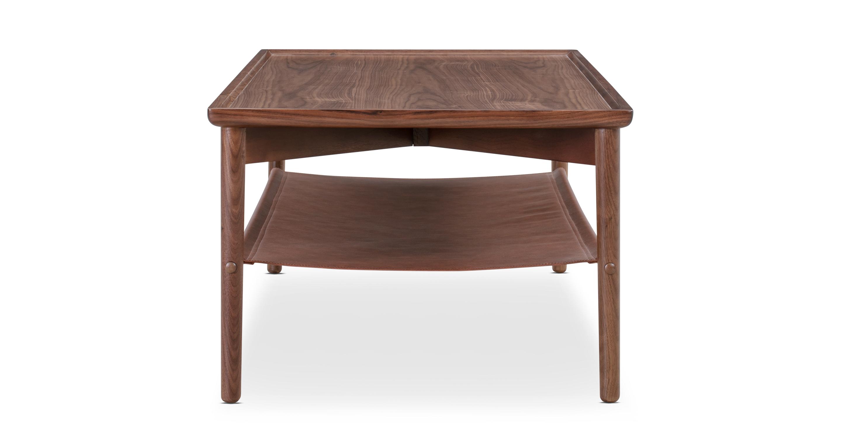 "Dream 47"" Coffee Table, Walnut"