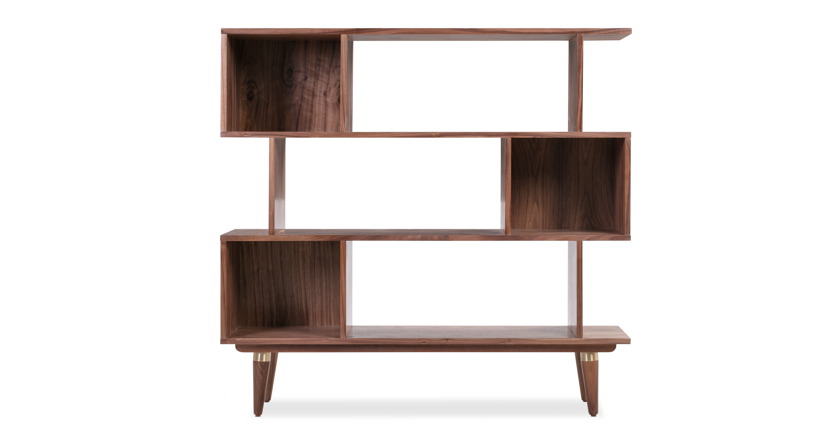 "Dream 50"" Bookshelf, Walnut"