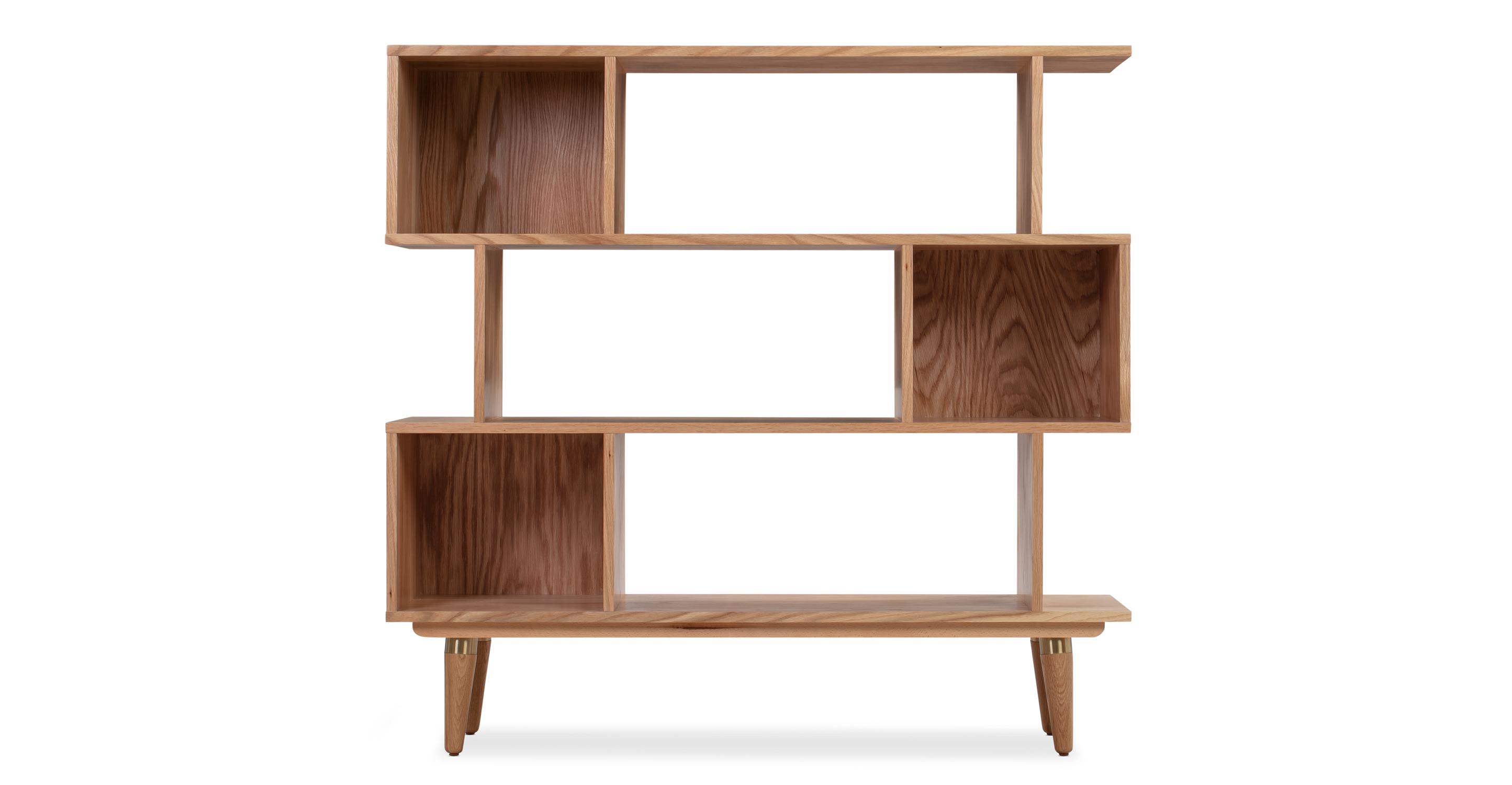 "Dream 50"" Bookshelf, Natural Oak"