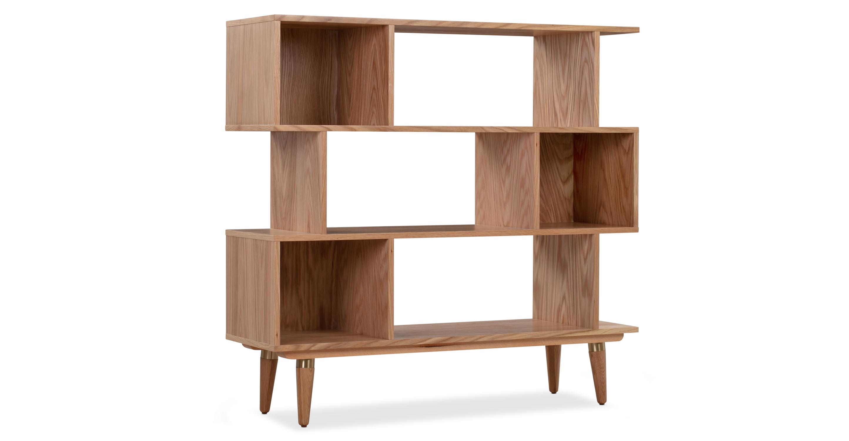 "Dream 49"" Bookshelf, Natural Oak"