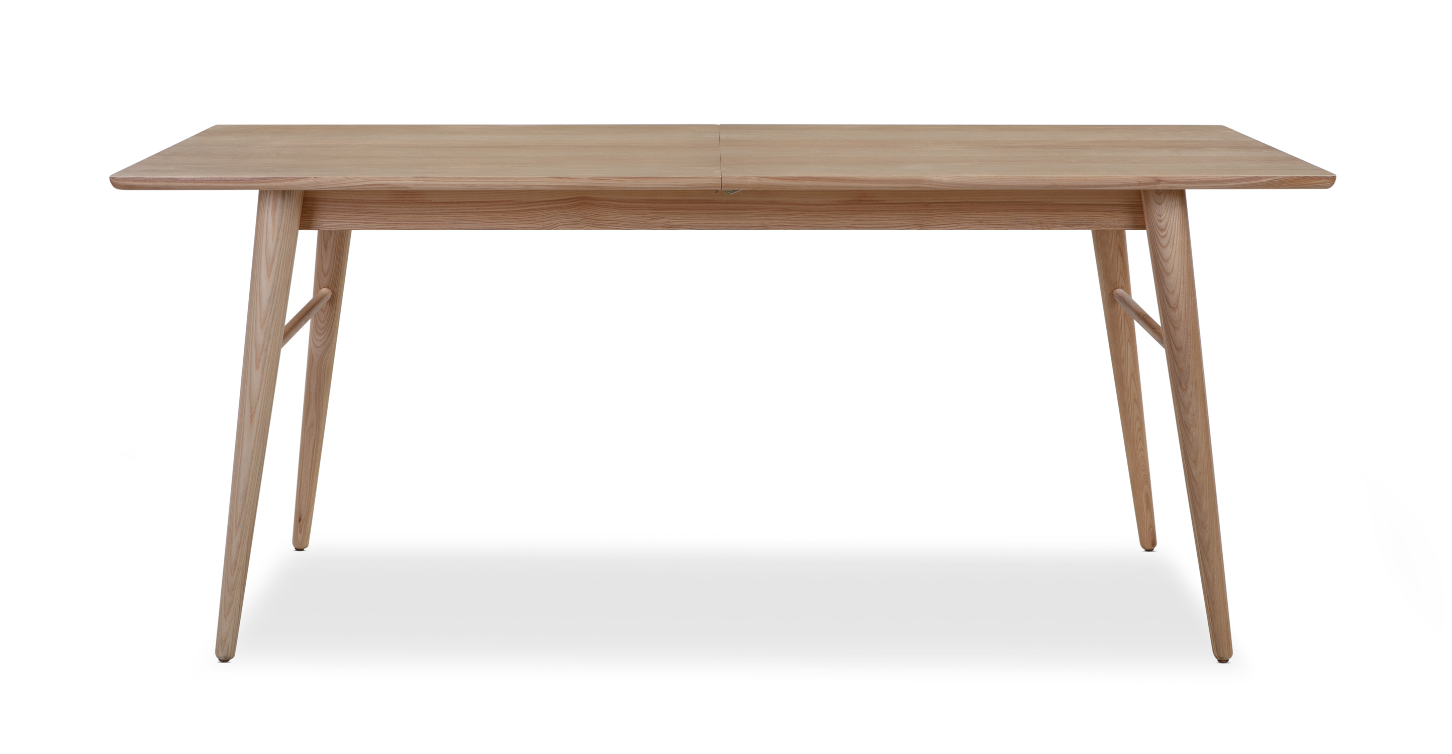 """Smiley 71-89"""" Extendable Dining Table (2) Benches, Ash"""