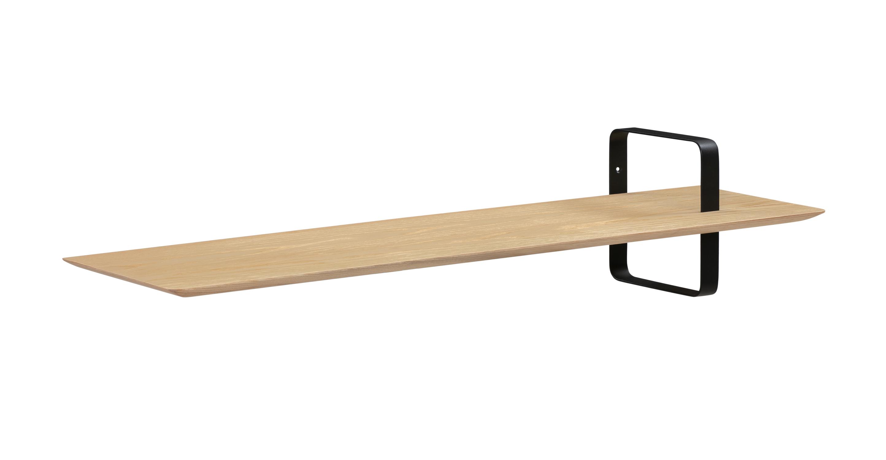 "Swell 39"" Wall Shelf, Natural Oak"