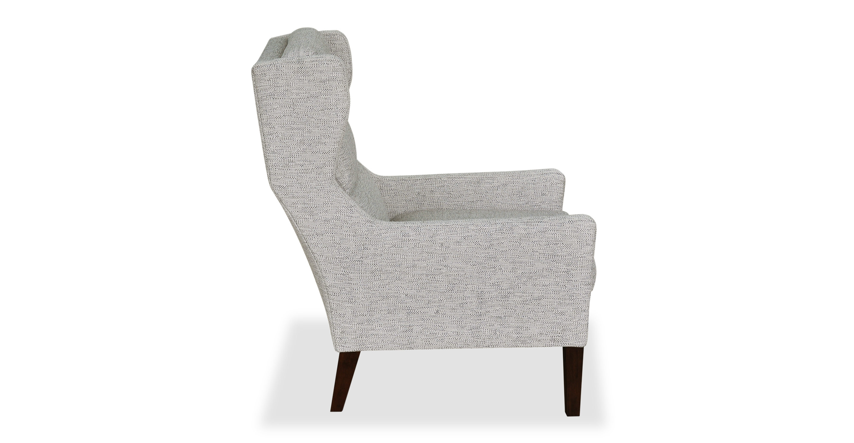 Borge Wing Fabric Chair, Cliff