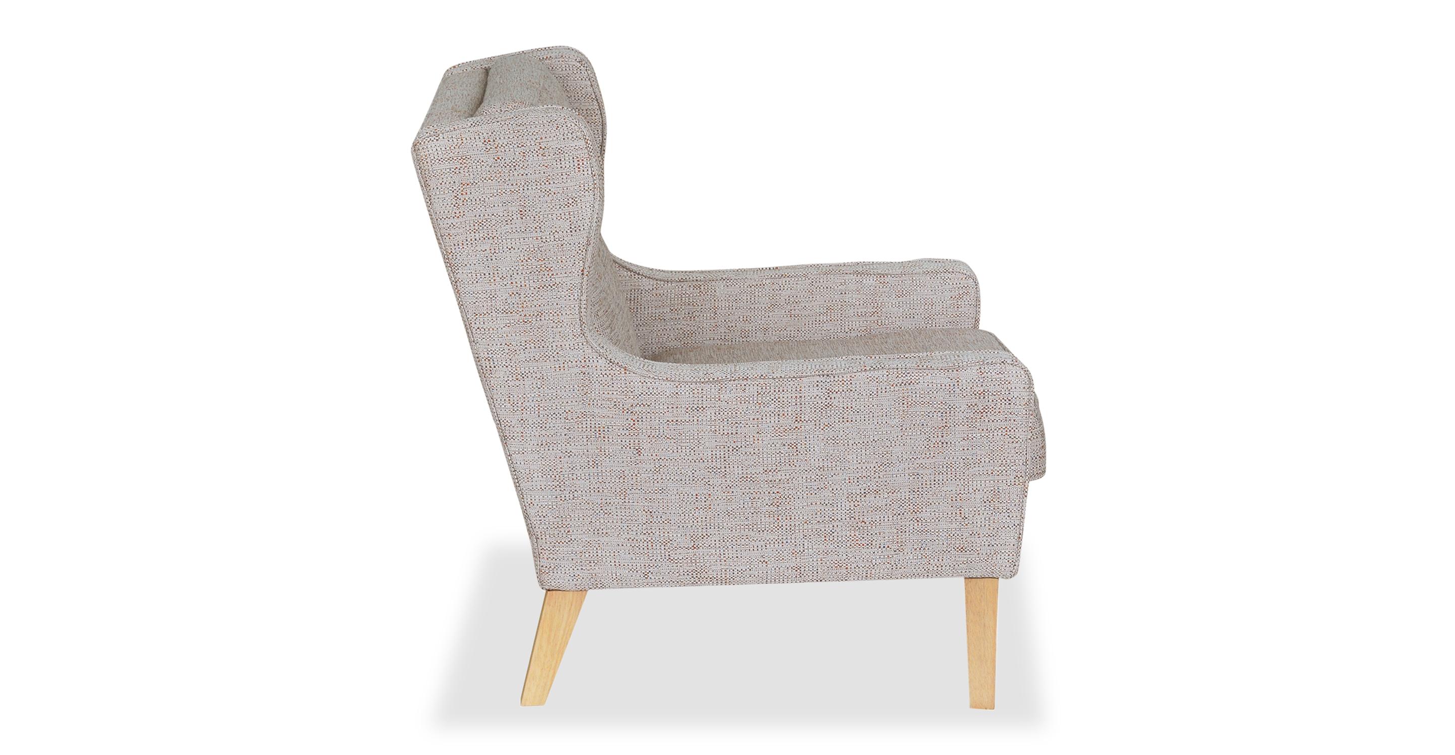 "Mogenson  27"" Wing Fabric Chair, Blossom"