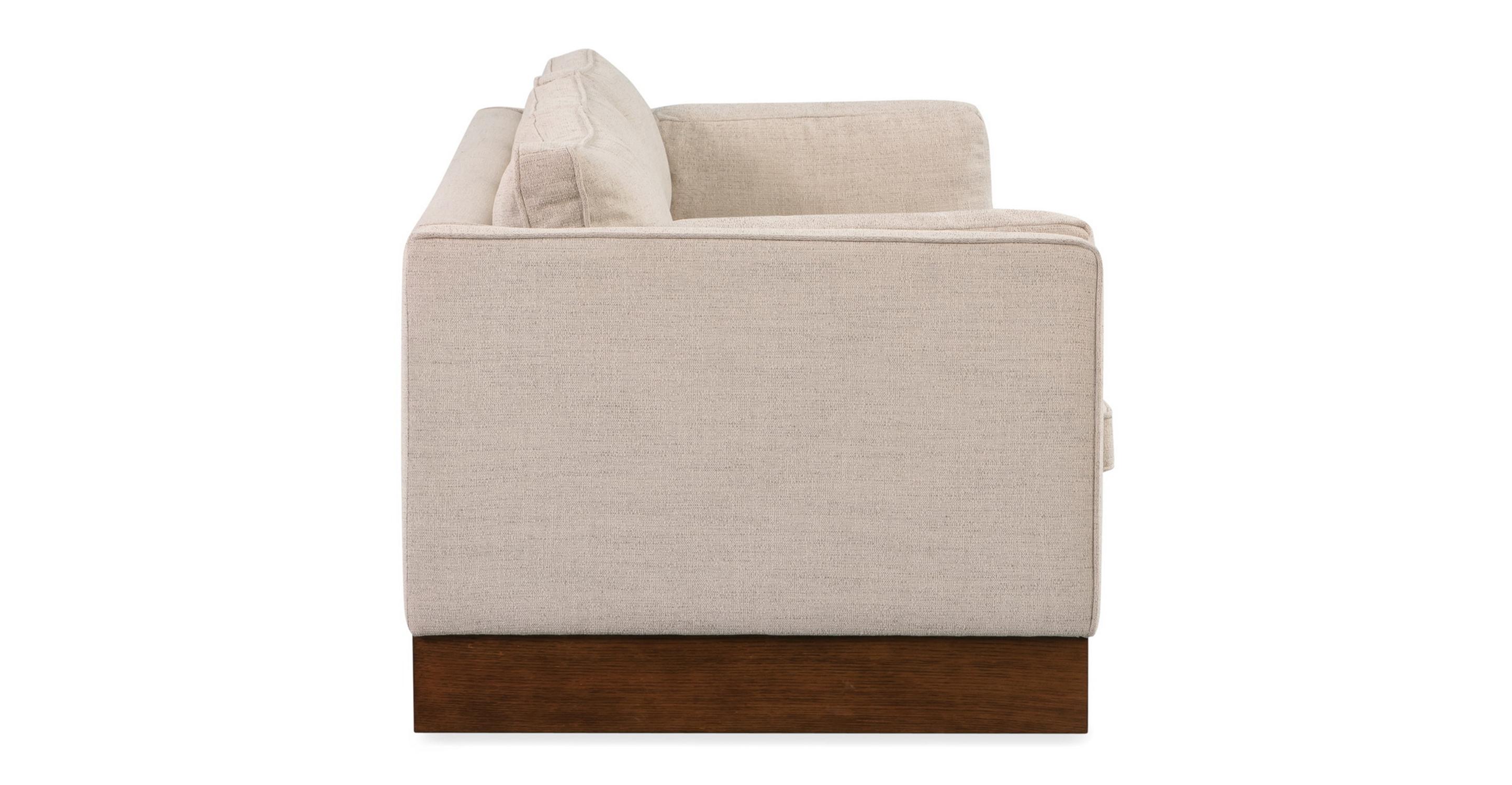 "Wexler 87"" Fabric Sofa, Oyster"