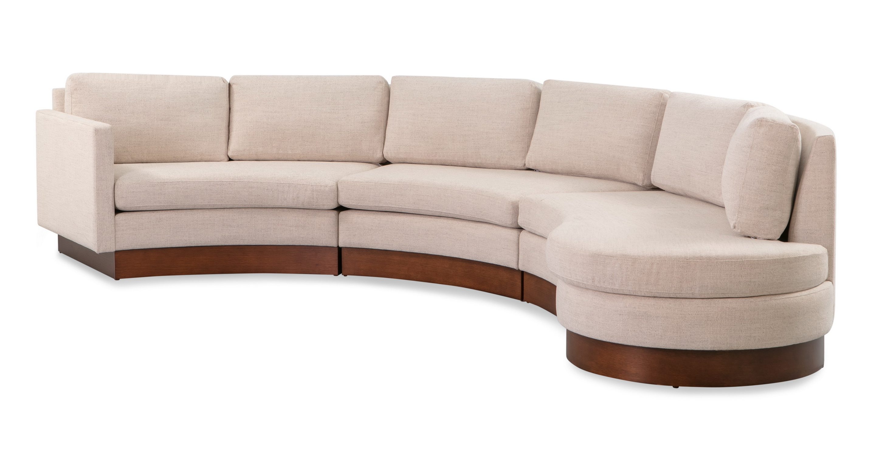 """Taylor 123"""" Modular Sectional, Oyster"""