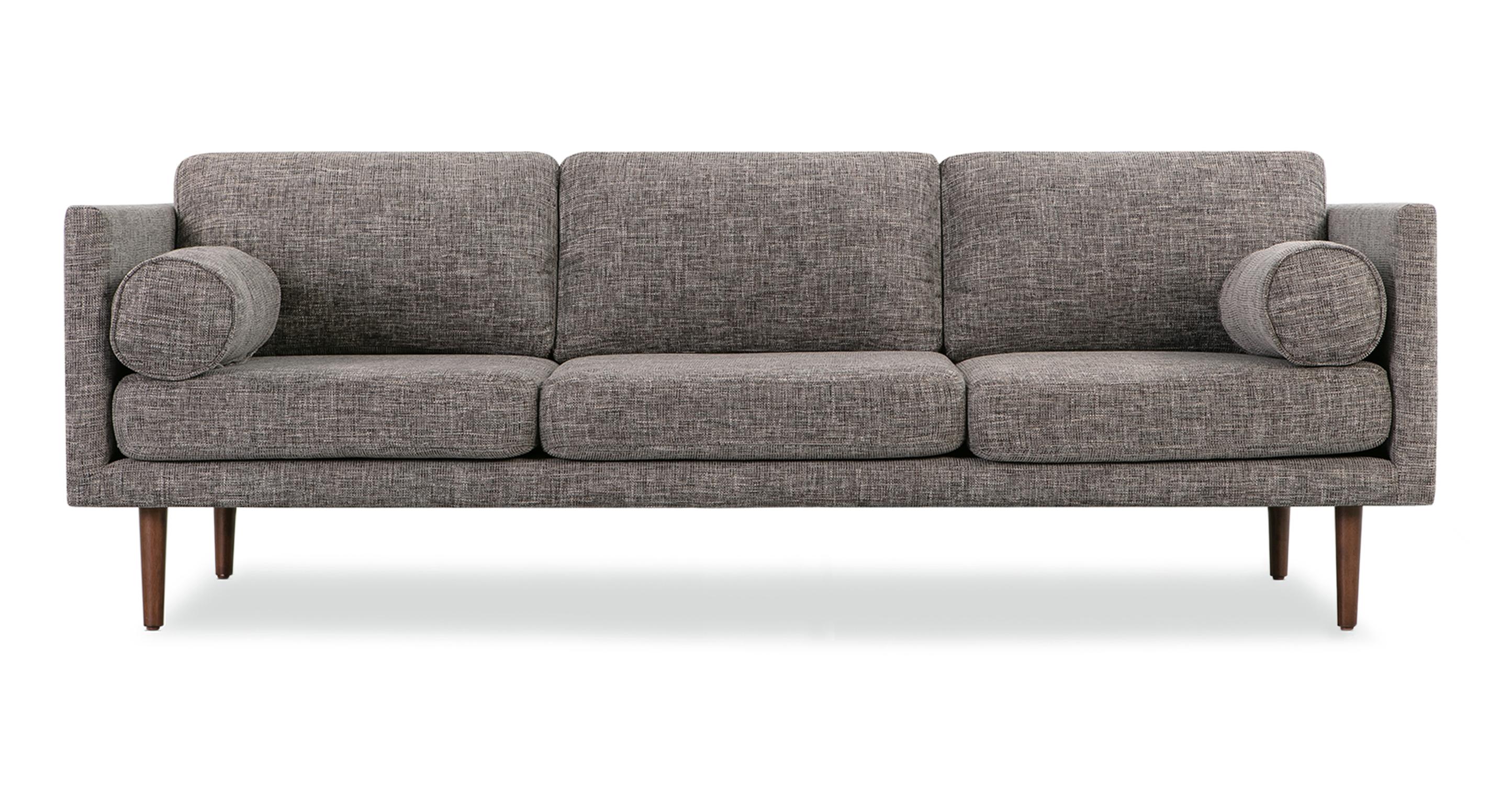 "Spectre 81"" Fabric Sofa, Iron Ore"