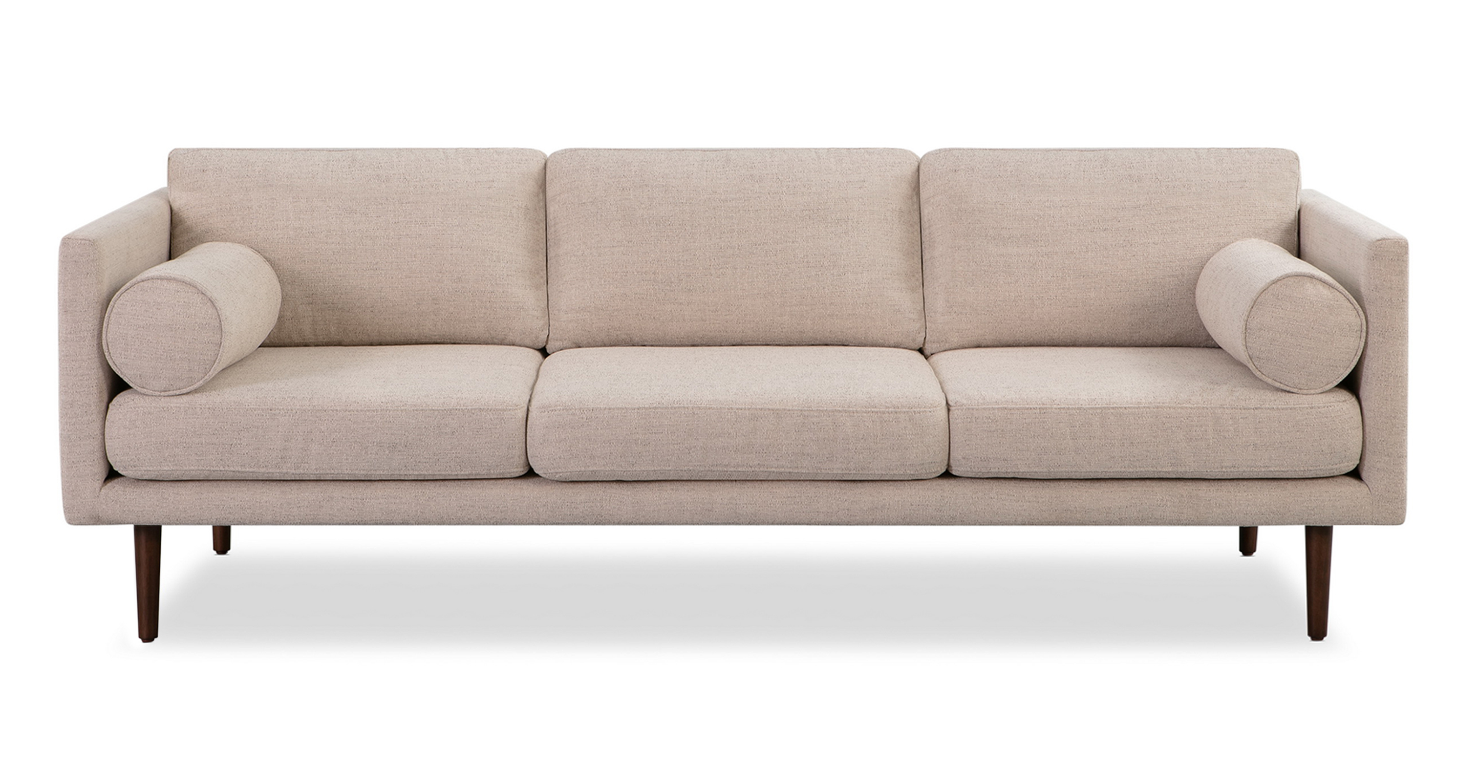 """Spectre 81"""" Fabric Sofa, Oyster"""