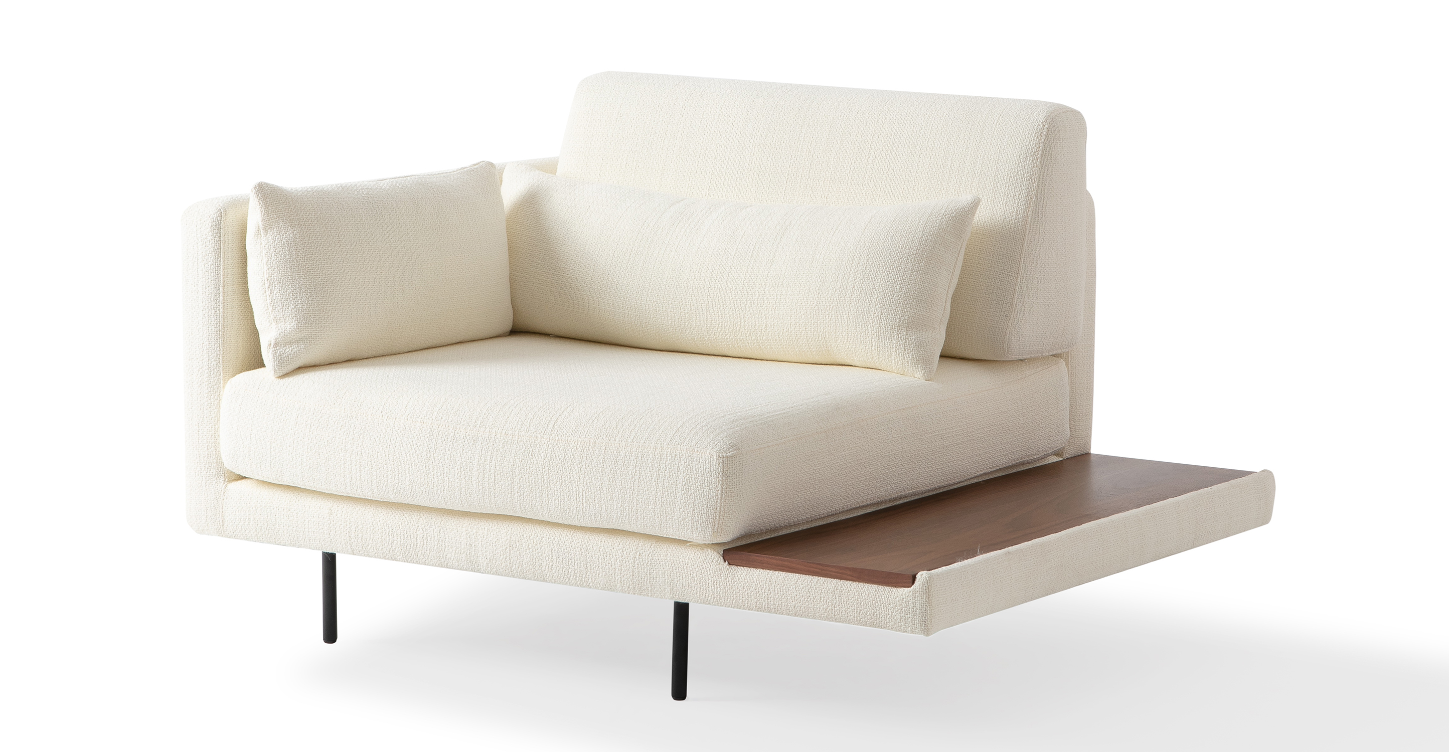"Davenport 50"" Fabric Chair, Jour Boucle"