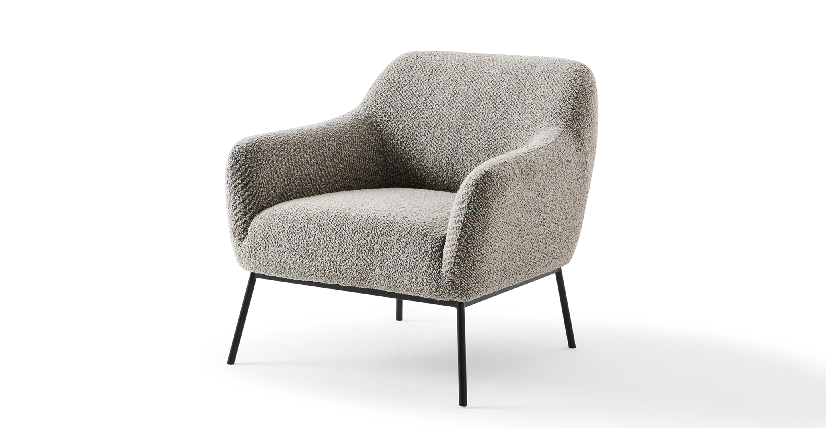 "Jive 32"" Fabric Chair, Bocce Boucle"