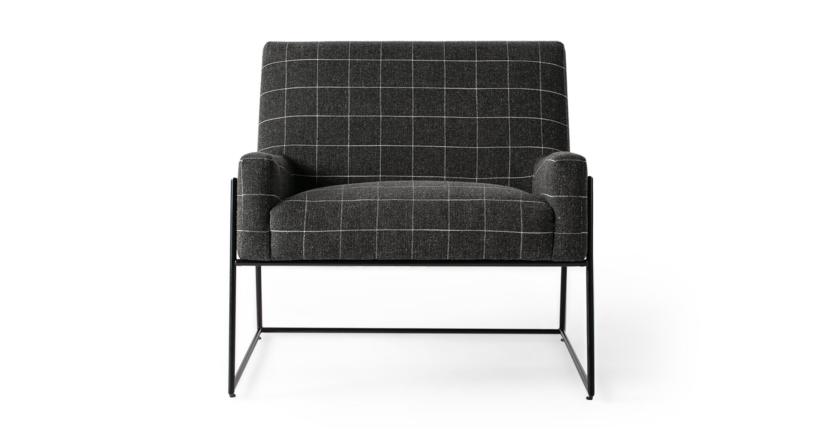"Suspend 30"" Fabric Chair, Savane Guier"