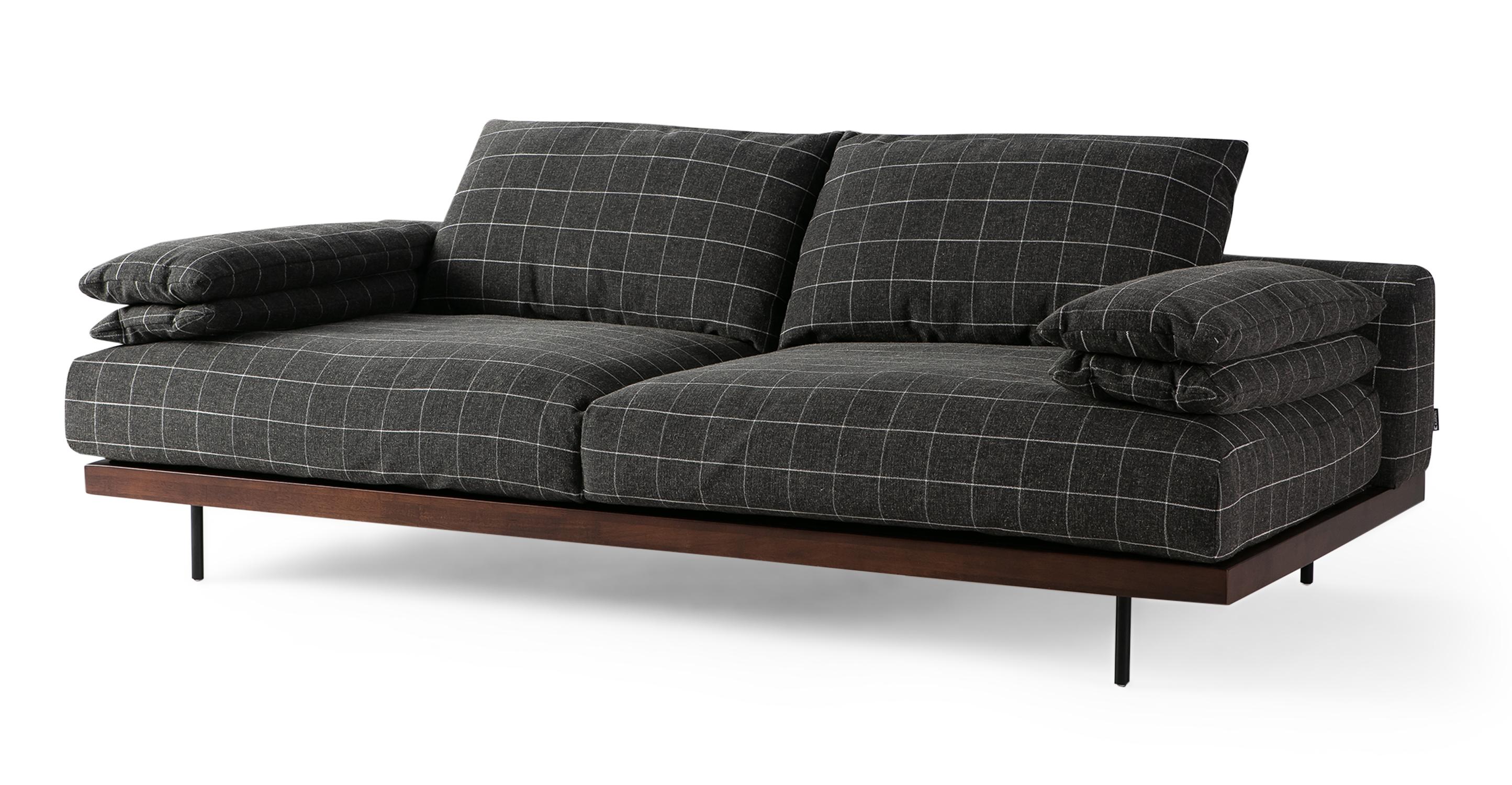"""Malibu 91"""" Fabric Sofa Sleeper, Savane Guier"""
