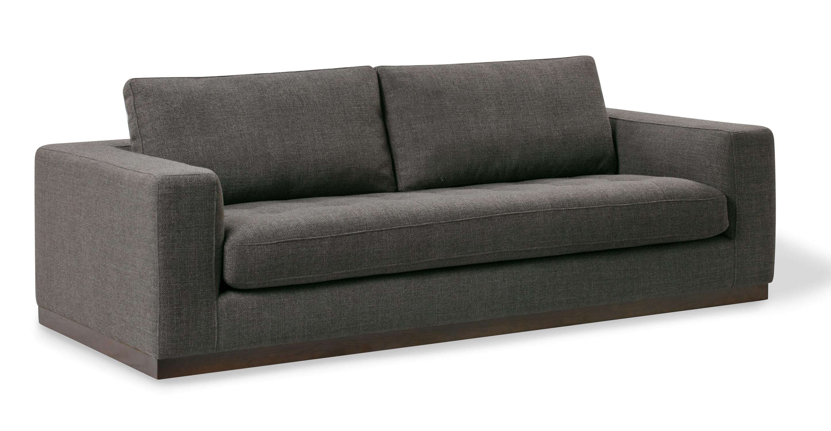 "Newport 91"" Fabric Sofa, Dior Grey"